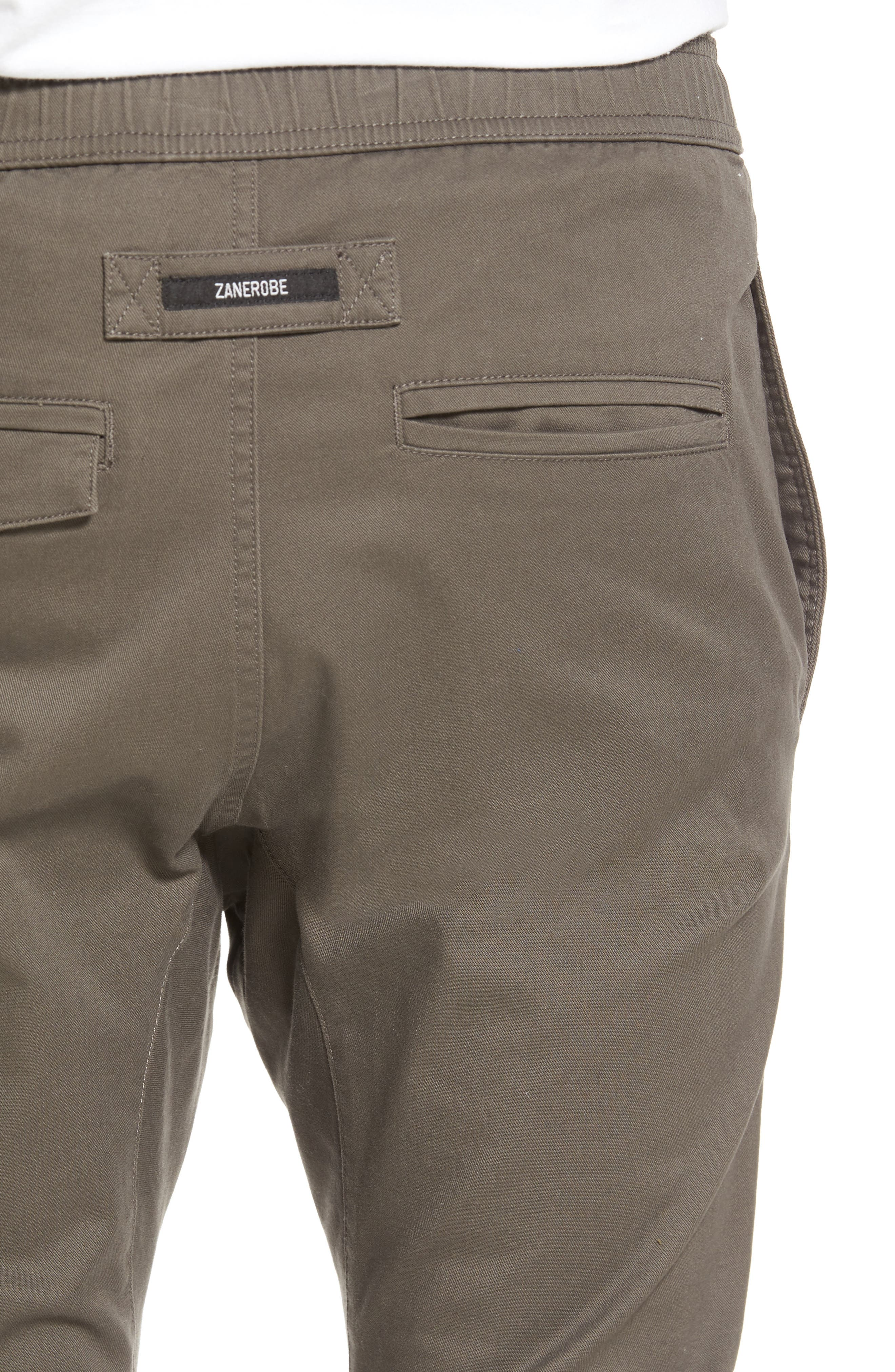 Salerno Stretch Woven Jogger Pants,                             Alternate thumbnail 4, color,                             PEAT