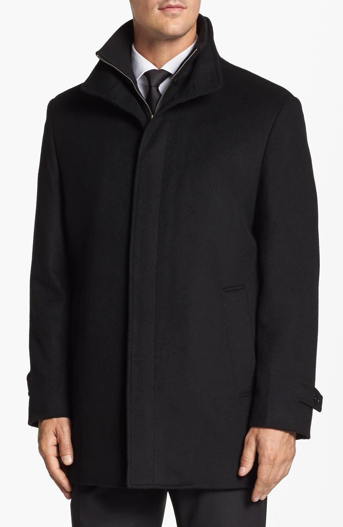 Wool Jacket,                             Alternate thumbnail 2, color,                             001