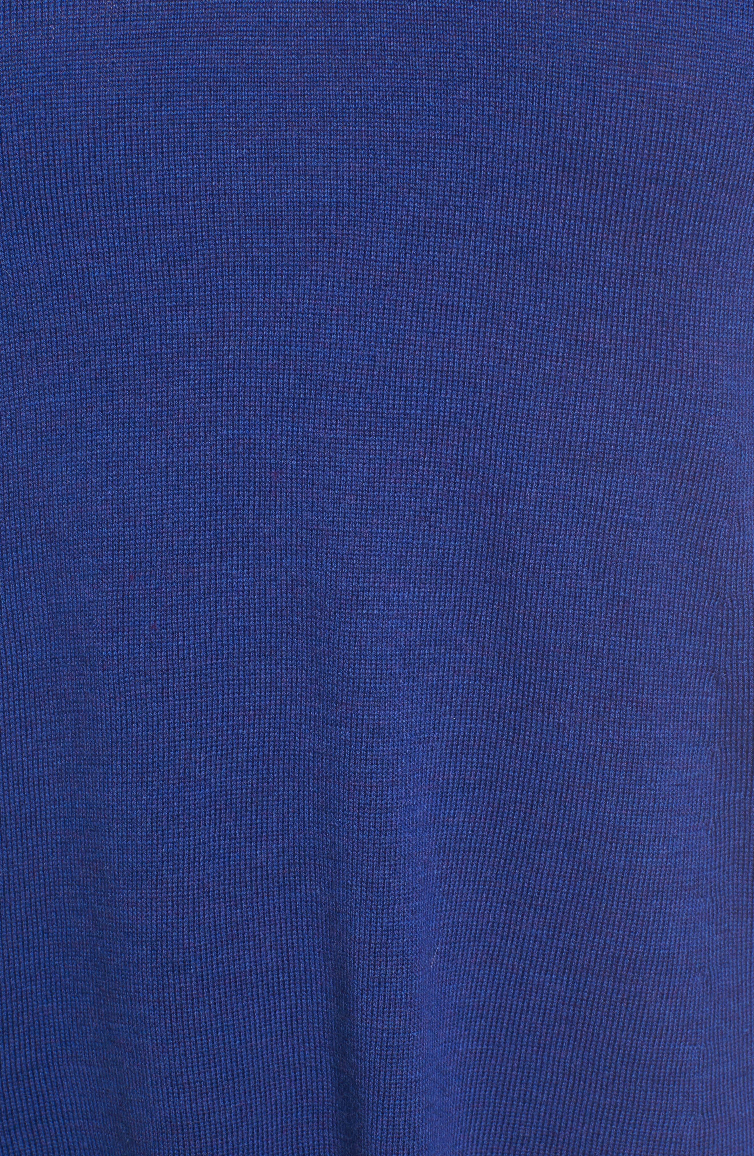 Lightweight Merino Jersey V-Neck Tunic,                             Alternate thumbnail 43, color,