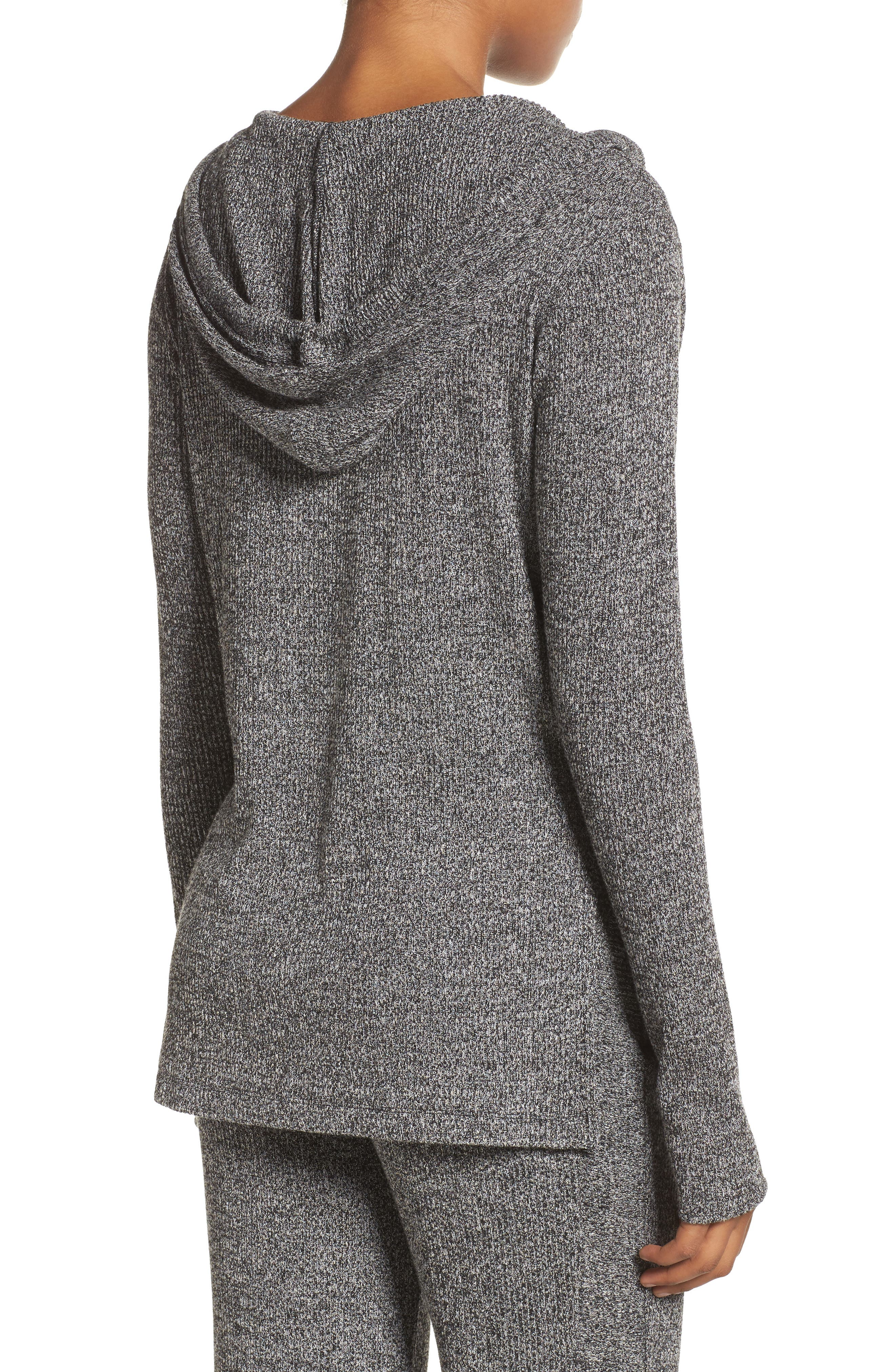Mantra Hooded Pullover Top,                             Alternate thumbnail 2, color,                             001
