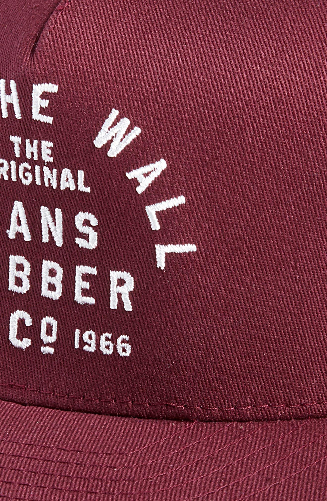 Rubber Co Flexfit Cap,                             Alternate thumbnail 3, color,