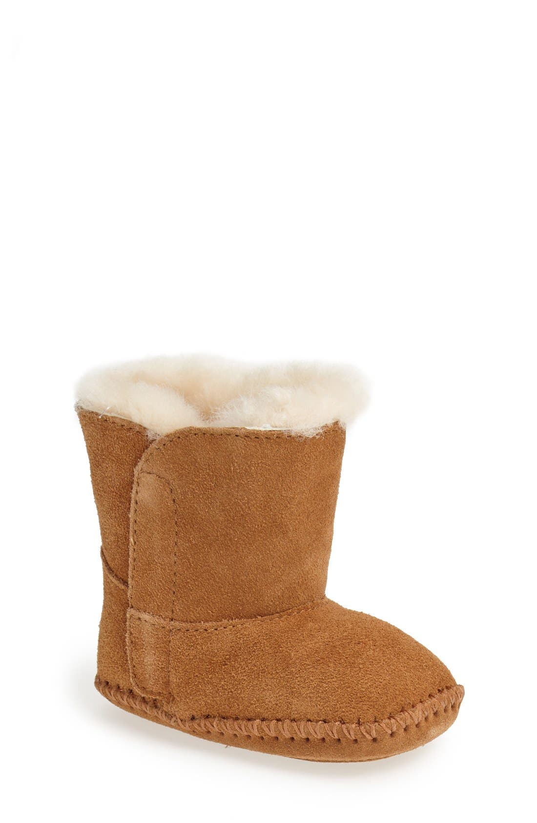 Caden Bootie,                         Main,                         color, CHESTNUT
