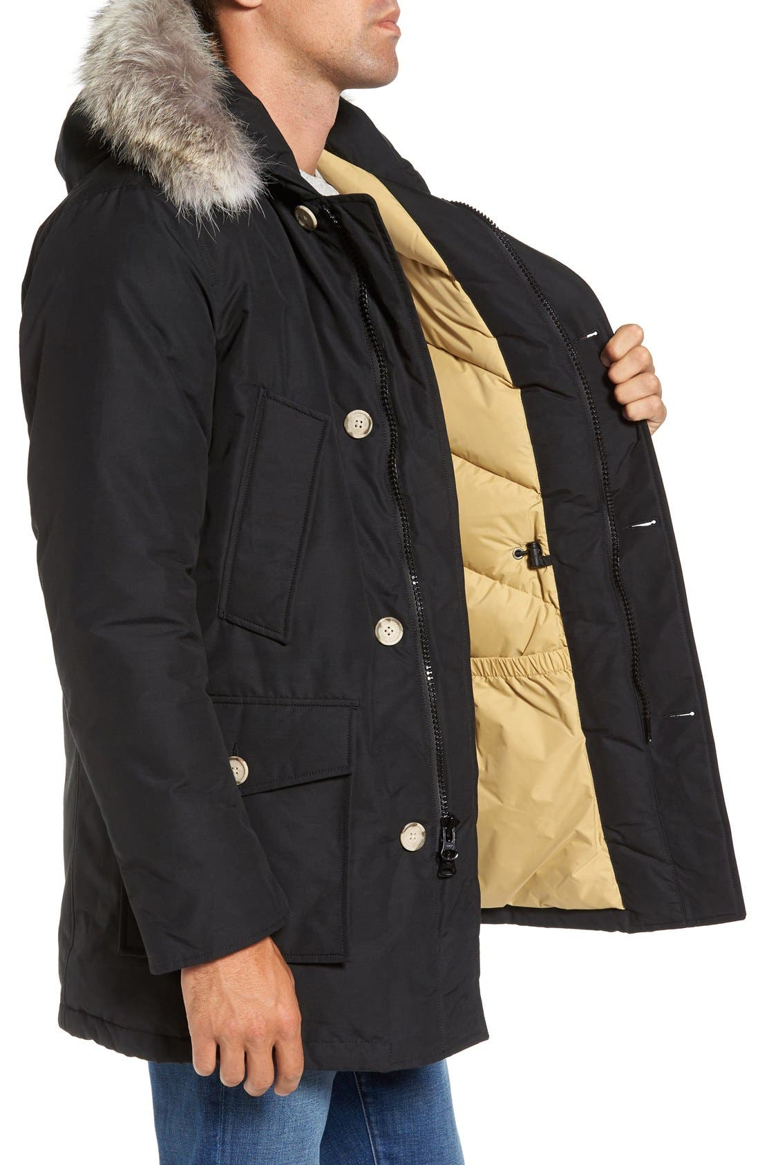 John Rich & Bros. Arctic Parka with Genuine Coyote Fur Trim,                             Alternate thumbnail 27, color,