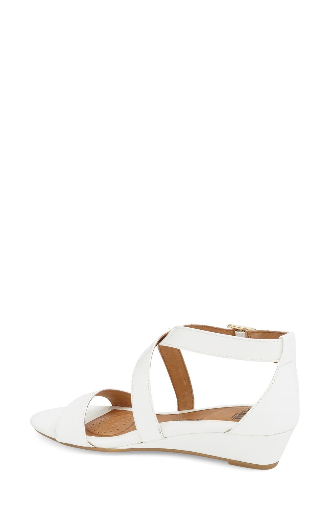 'Innis' Low Wedge Sandal,                             Alternate thumbnail 19, color,