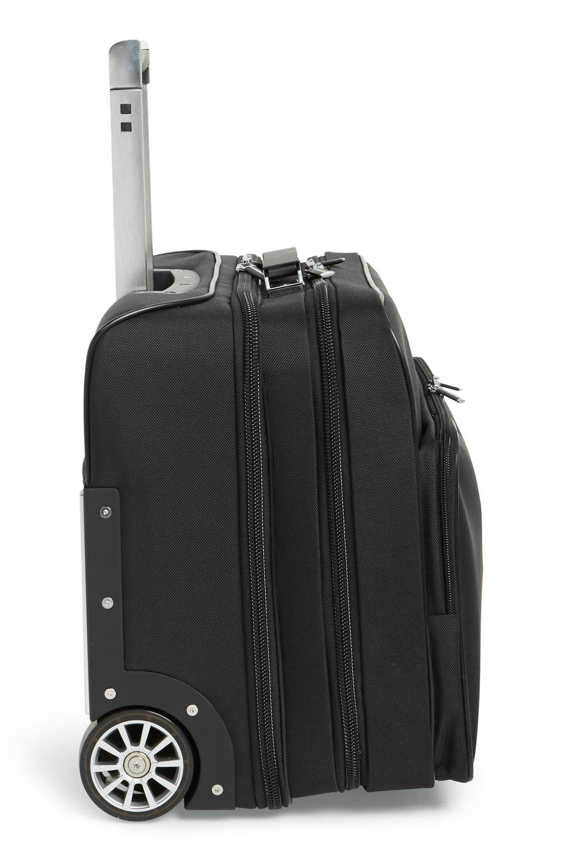 'Roadster 3.0' Wheeled Carry-On,                             Alternate thumbnail 3, color,                             001