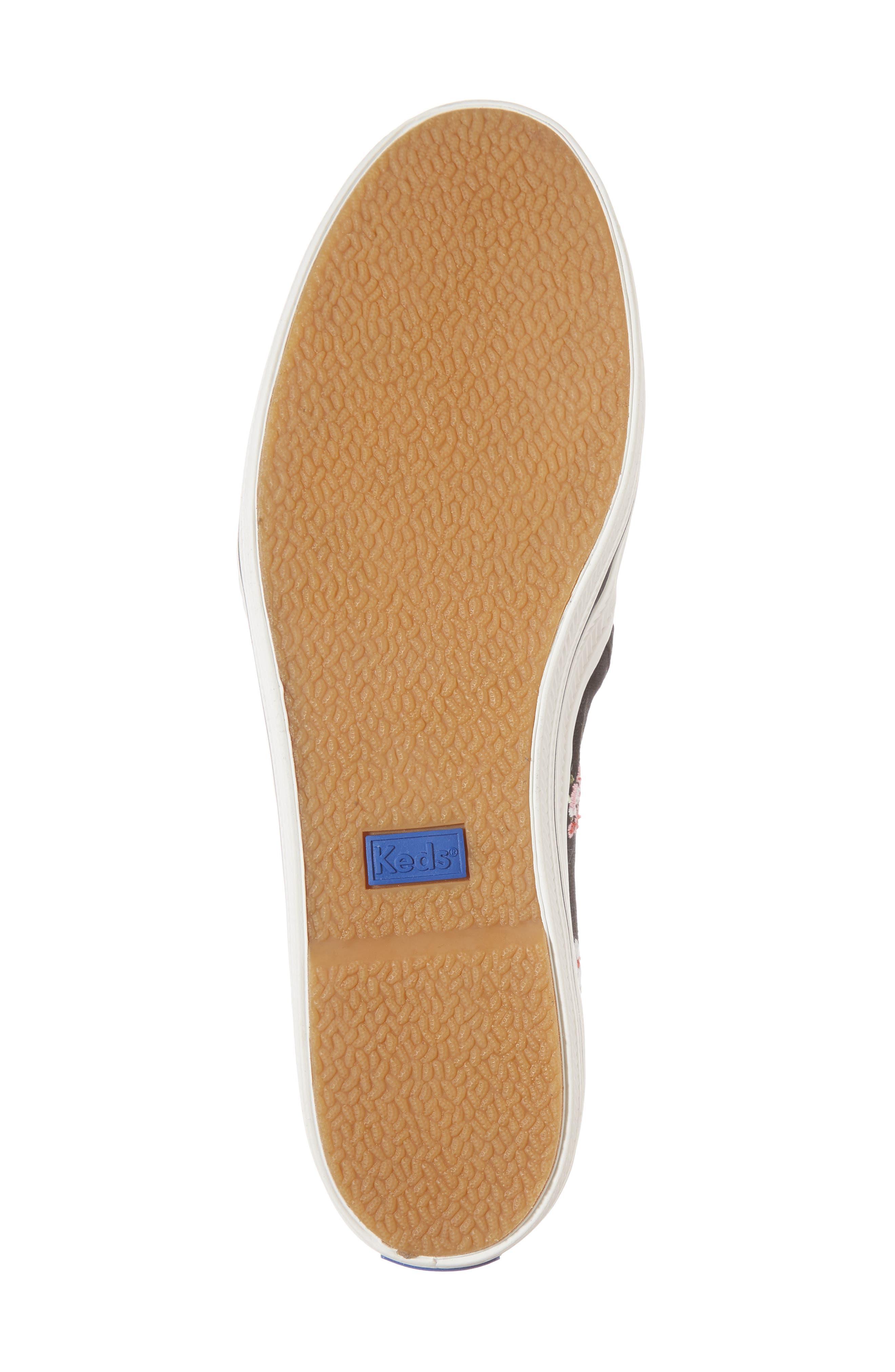 Keds<sup>®</sup> x kate spade Triple Decker Slip-On Sneaker,                             Alternate thumbnail 12, color,