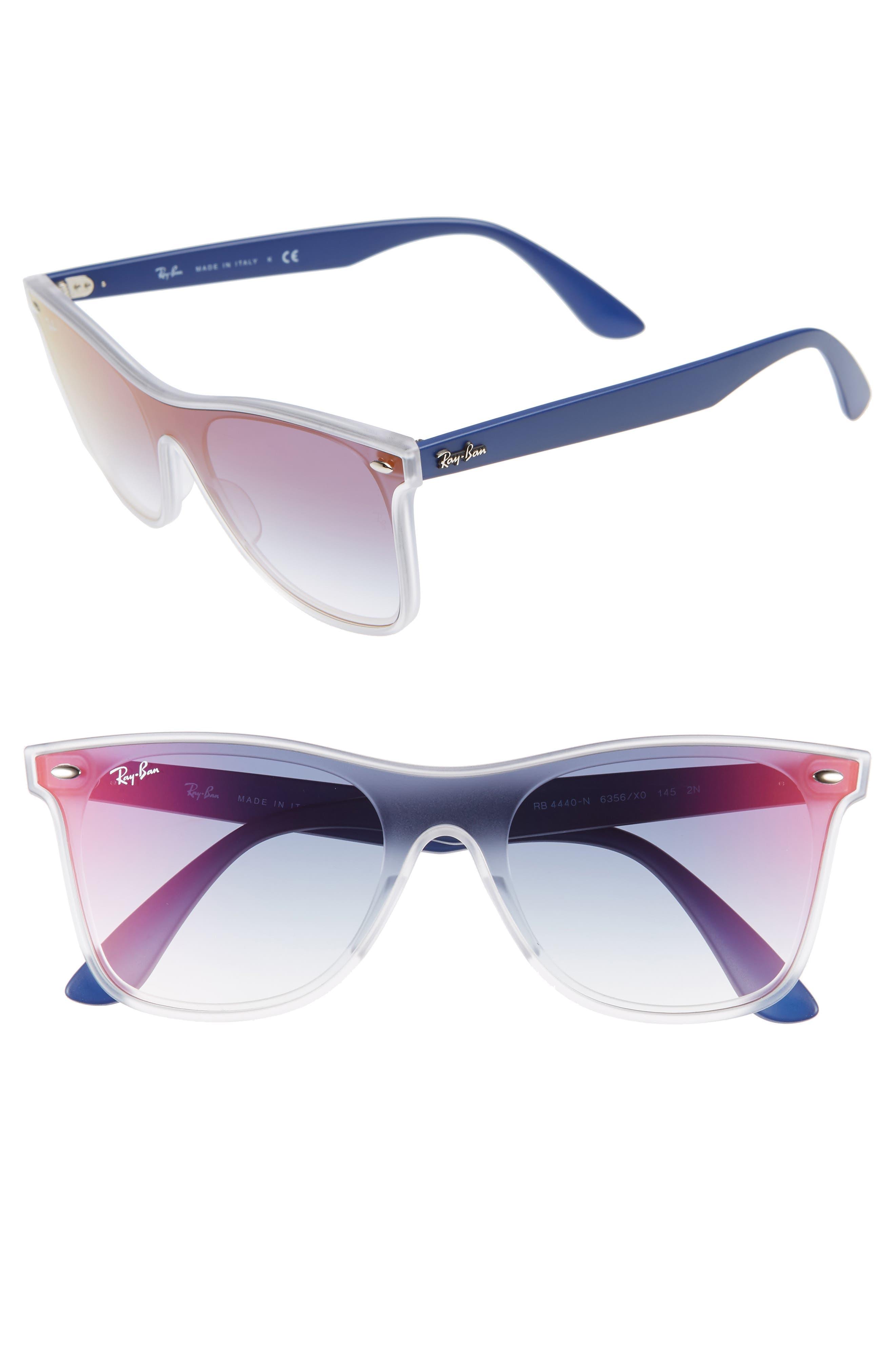 Ray-Ban 5m Navigator Sunglasses - Purple Blue