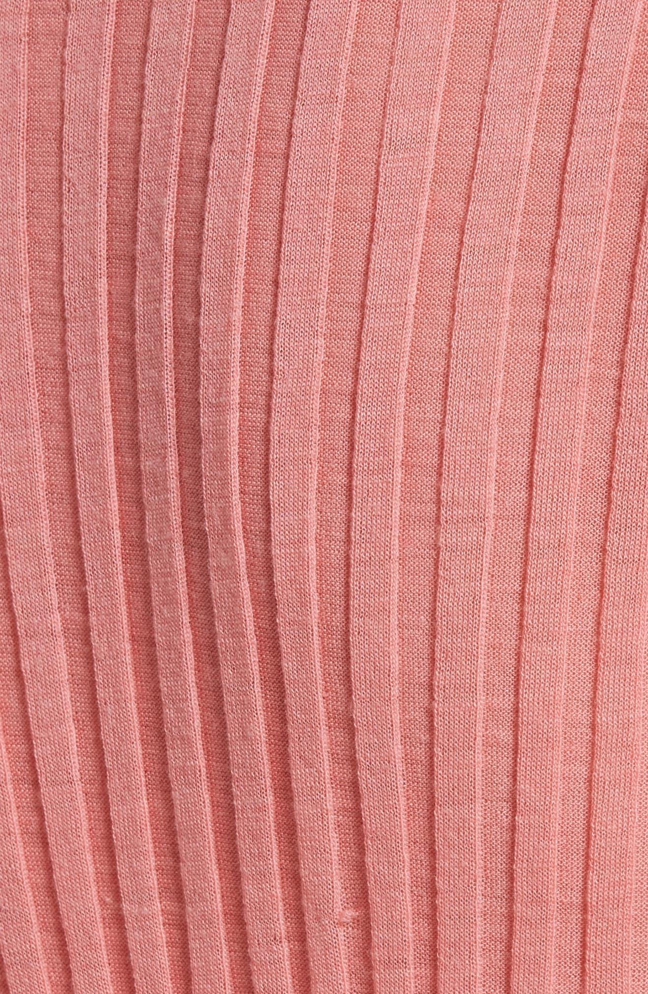 Diane von Furstenberg Ribbed Sweater,                             Alternate thumbnail 5, color,                             670