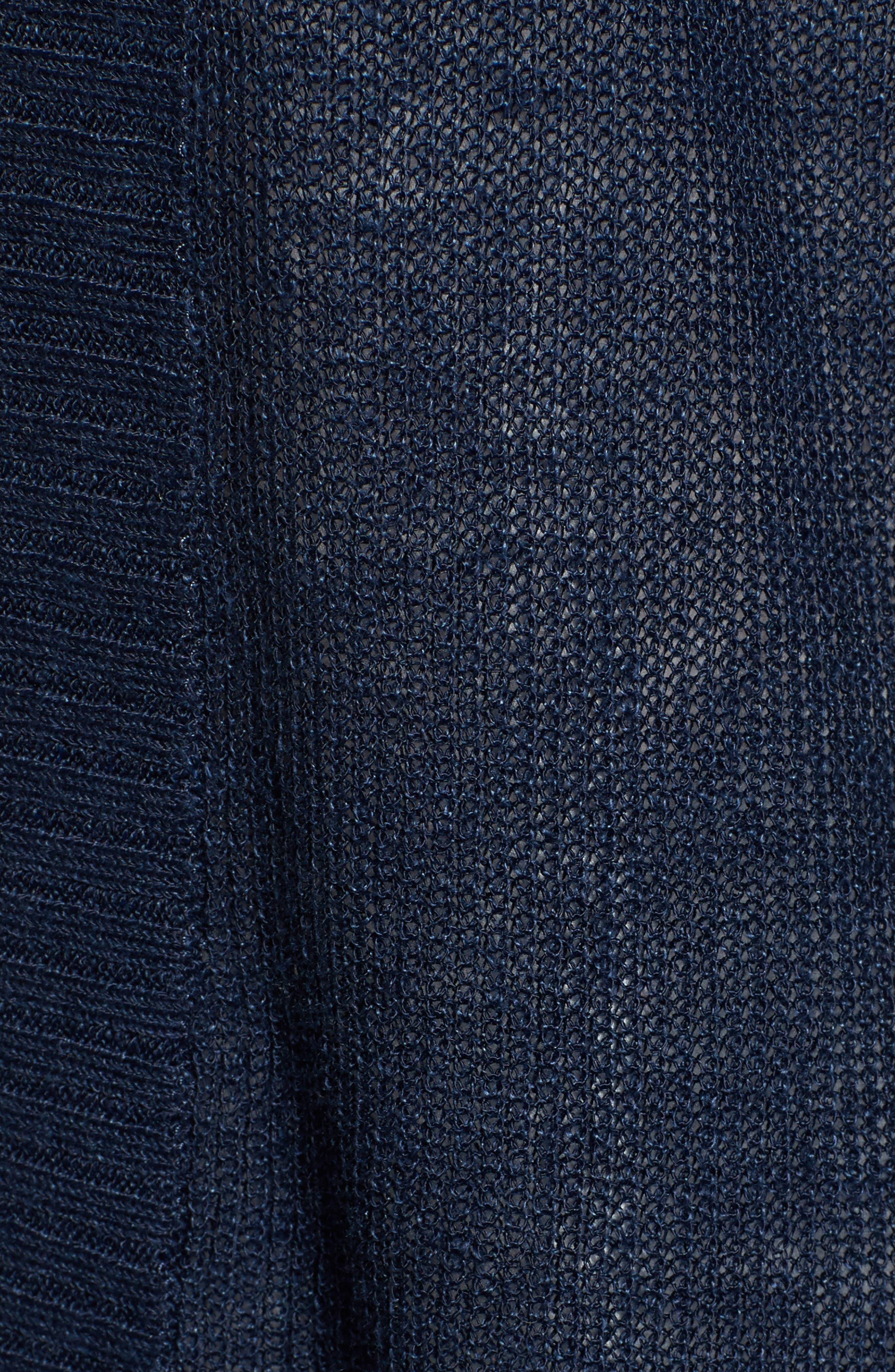 Cold Shoulder Cardigan,                             Alternate thumbnail 5, color,                             410