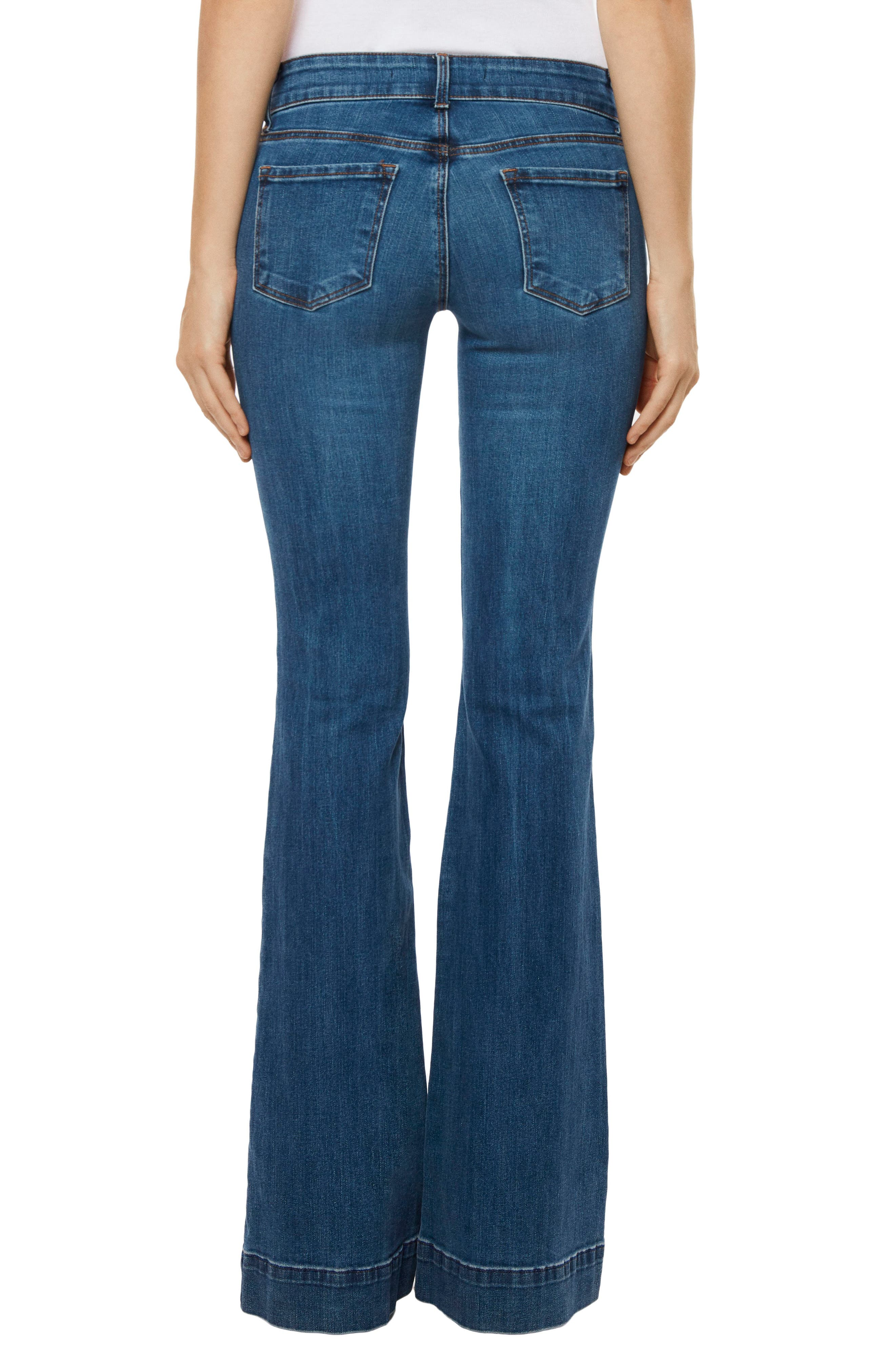 Love Story Flare Jeans,                             Alternate thumbnail 2, color,                             423