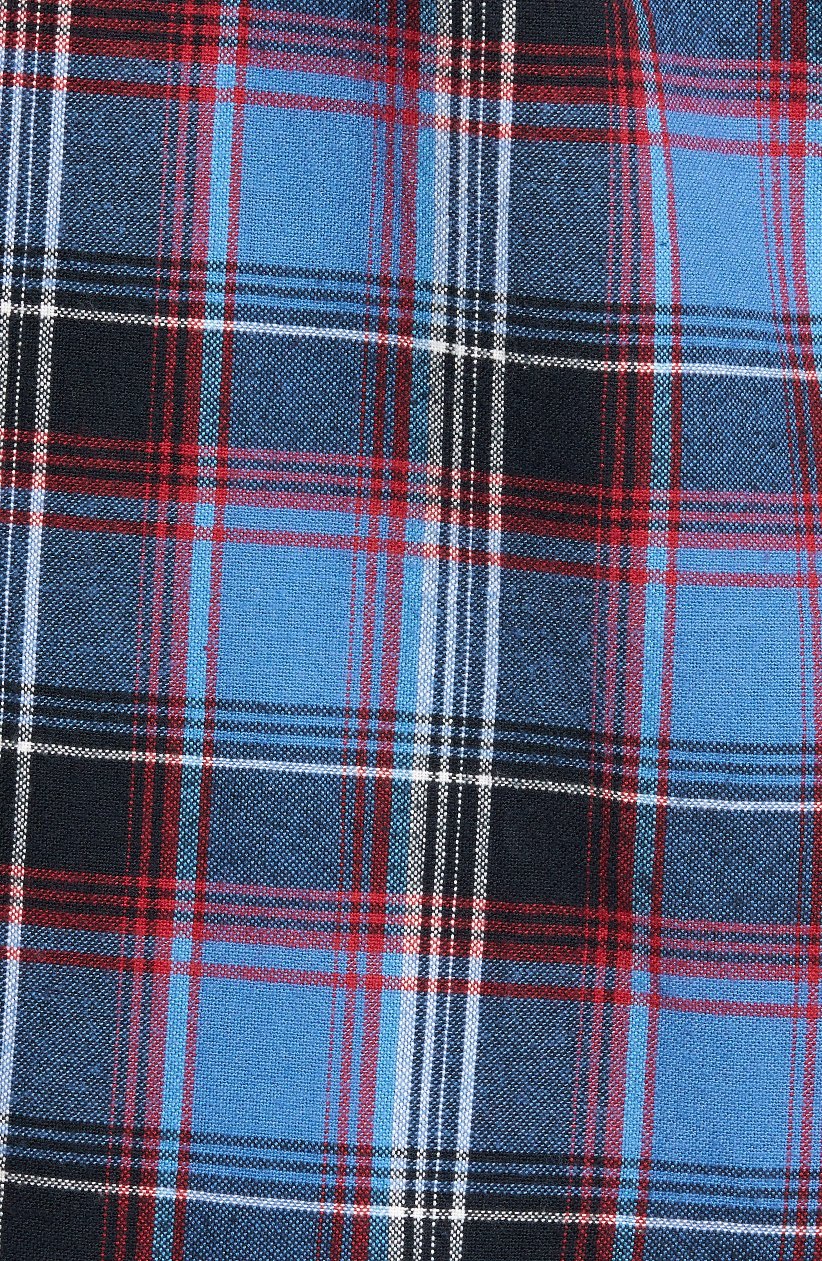 Marvyn Plaid Woven Shirt,                             Alternate thumbnail 5, color,                             410