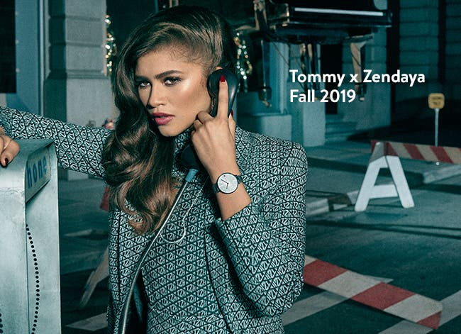 Tommy x Zendaya Fall 2019 collection of women's clothing.