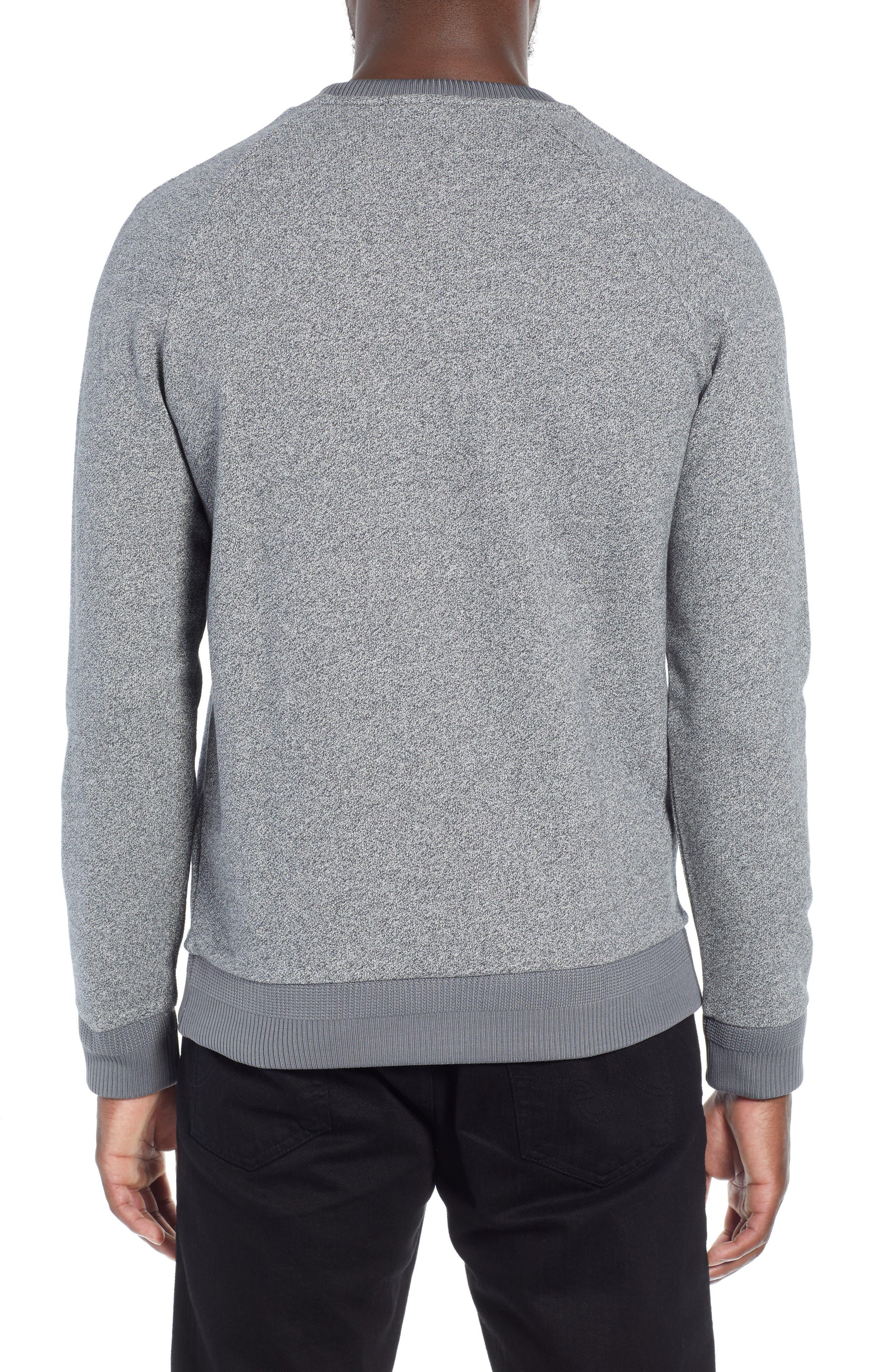 Stadler Denimic Regular Fit Sweatshirt,                             Alternate thumbnail 2, color,                             GREY