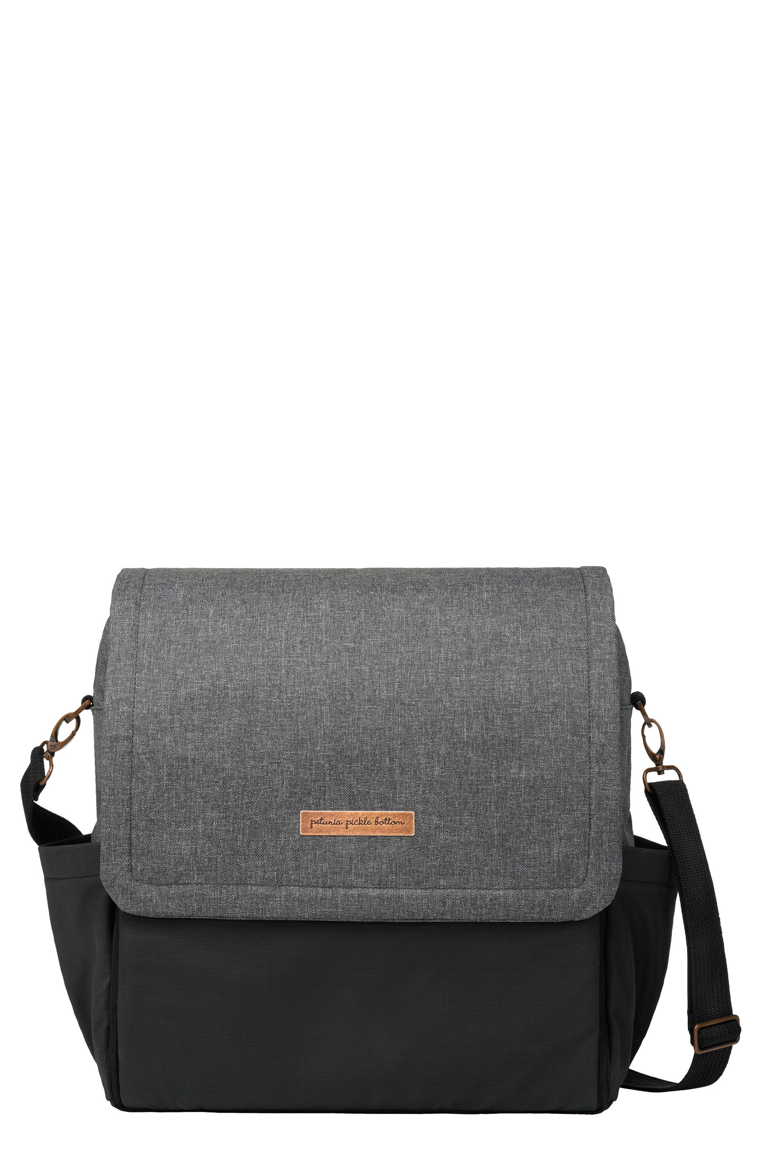Boxy Backpack Diaper Bag,                             Main thumbnail 1, color,                             GRAPHITE/ BLACK