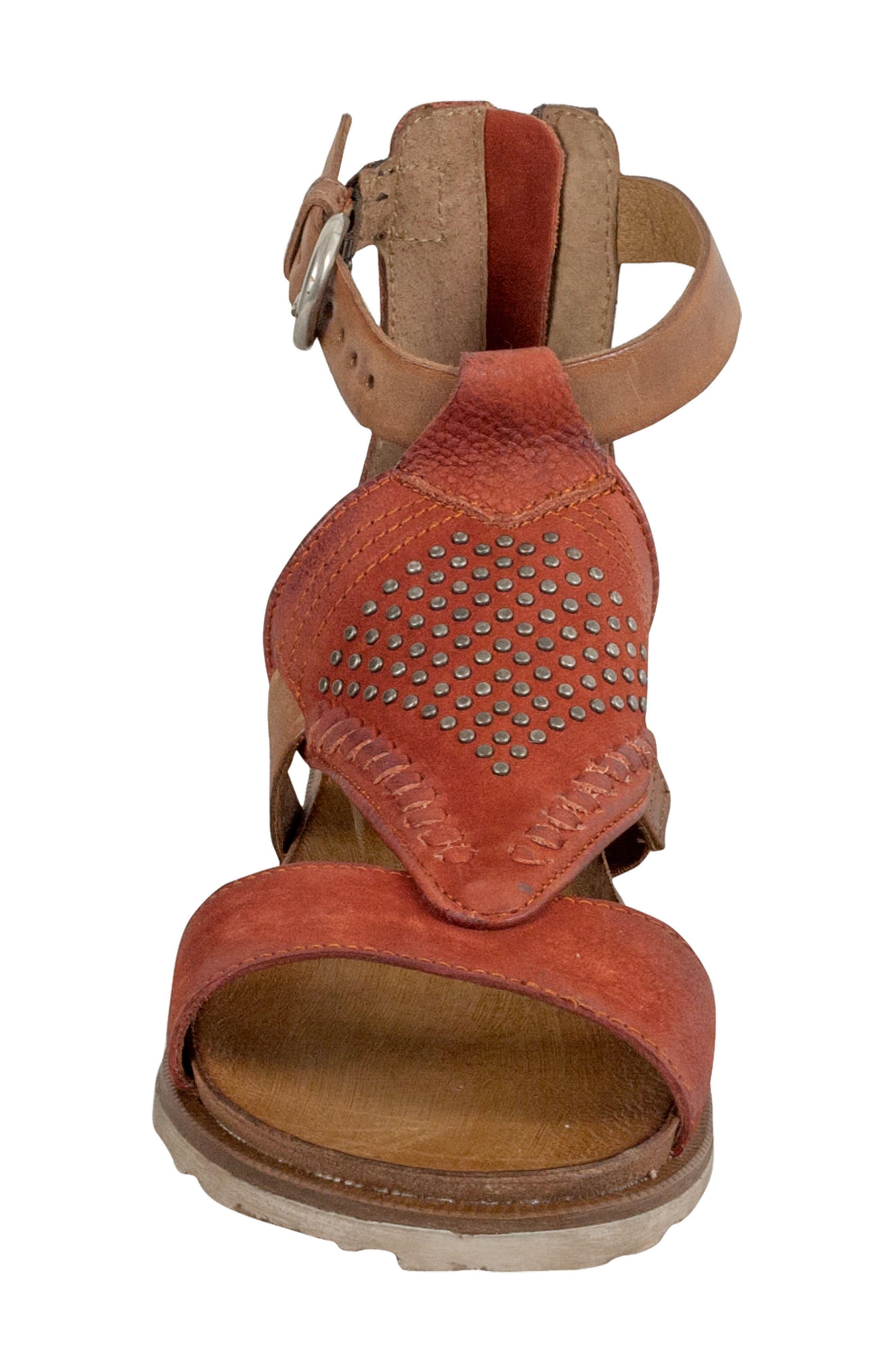 Tessa Studded Diamond Sandal,                             Alternate thumbnail 8, color,