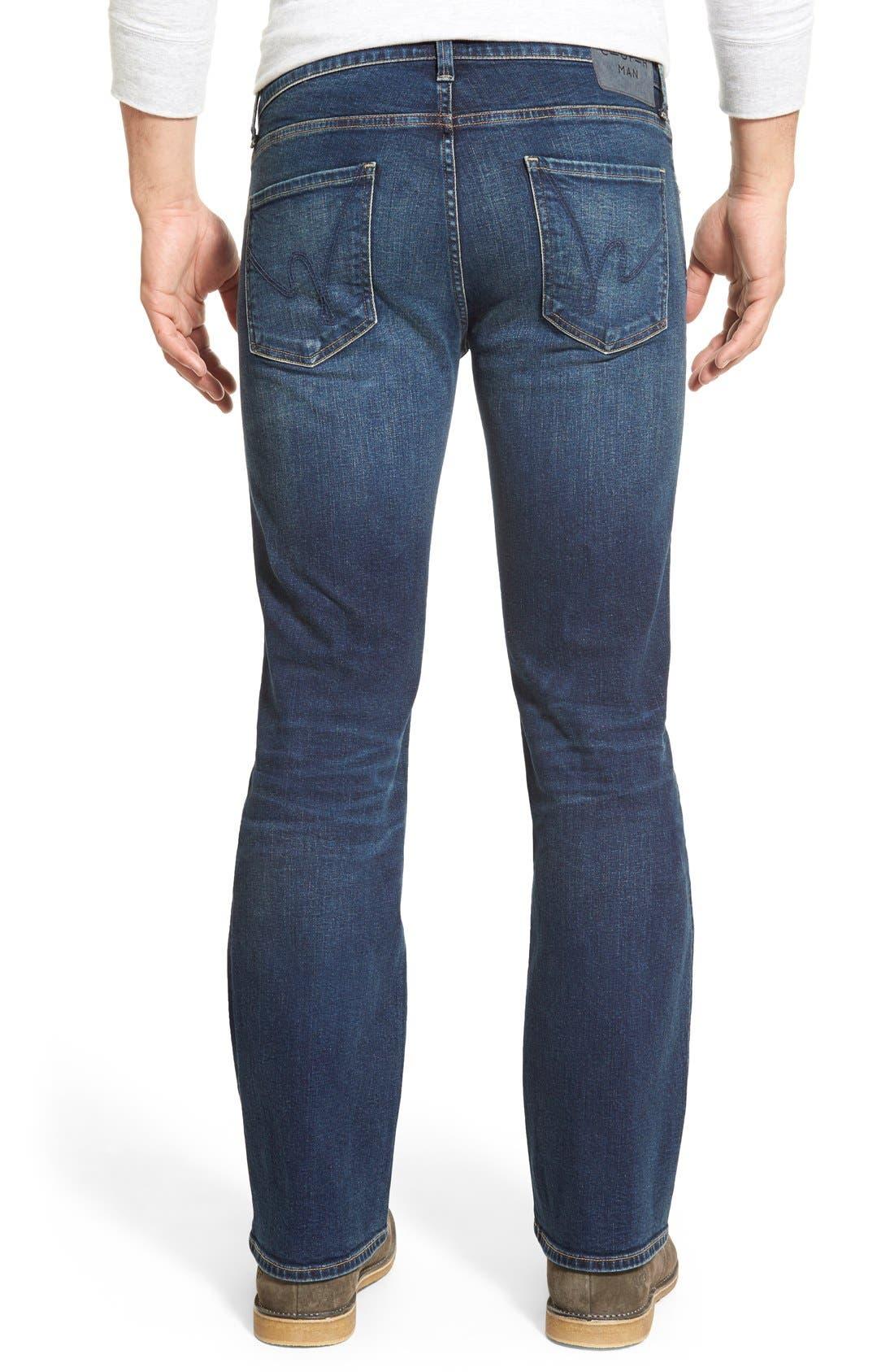 Bootcut Jeans,                             Alternate thumbnail 3, color,                             420