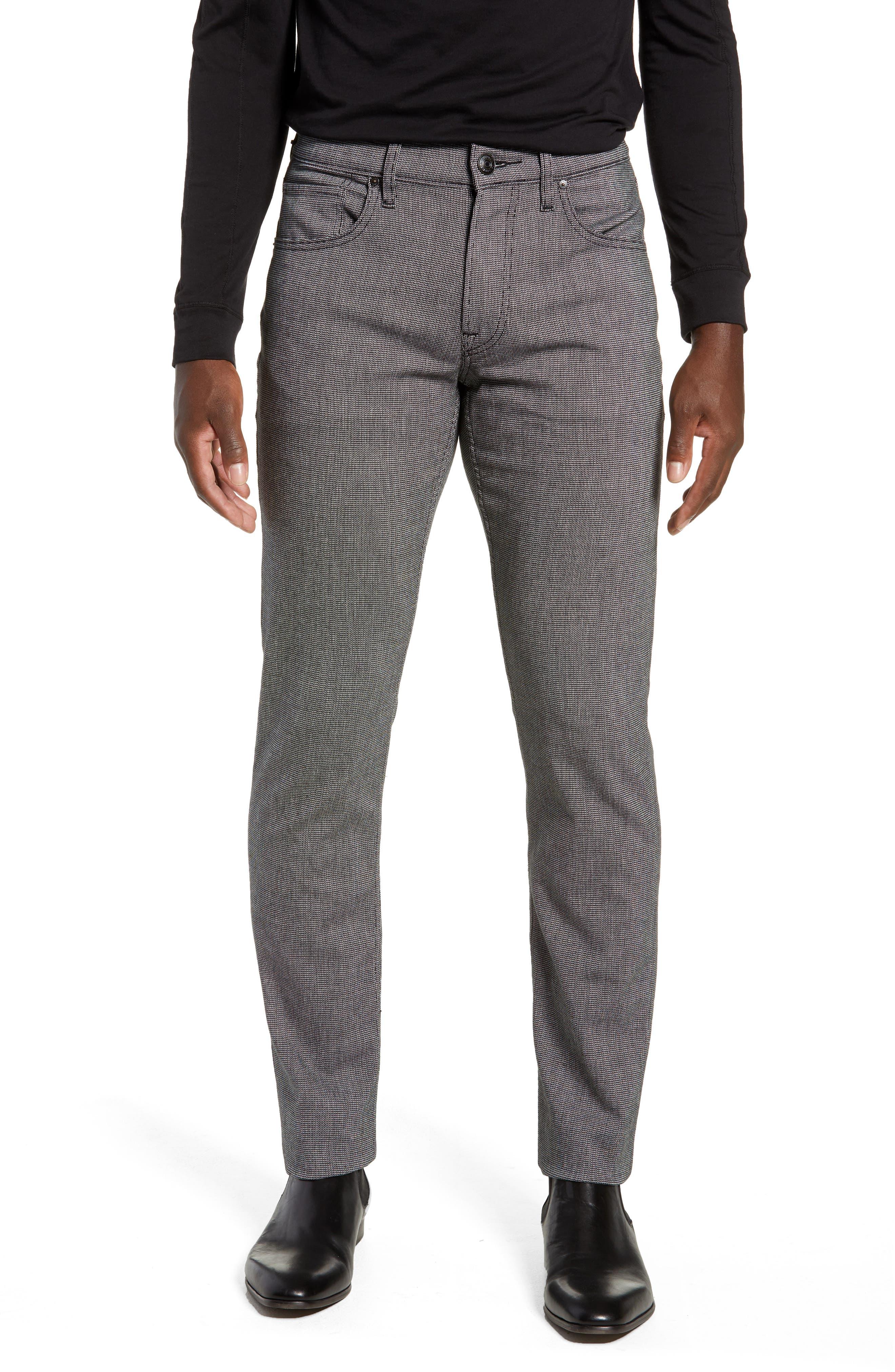 Blake Slim Fit Pants,                         Main,                         color, BLACK WILLOW
