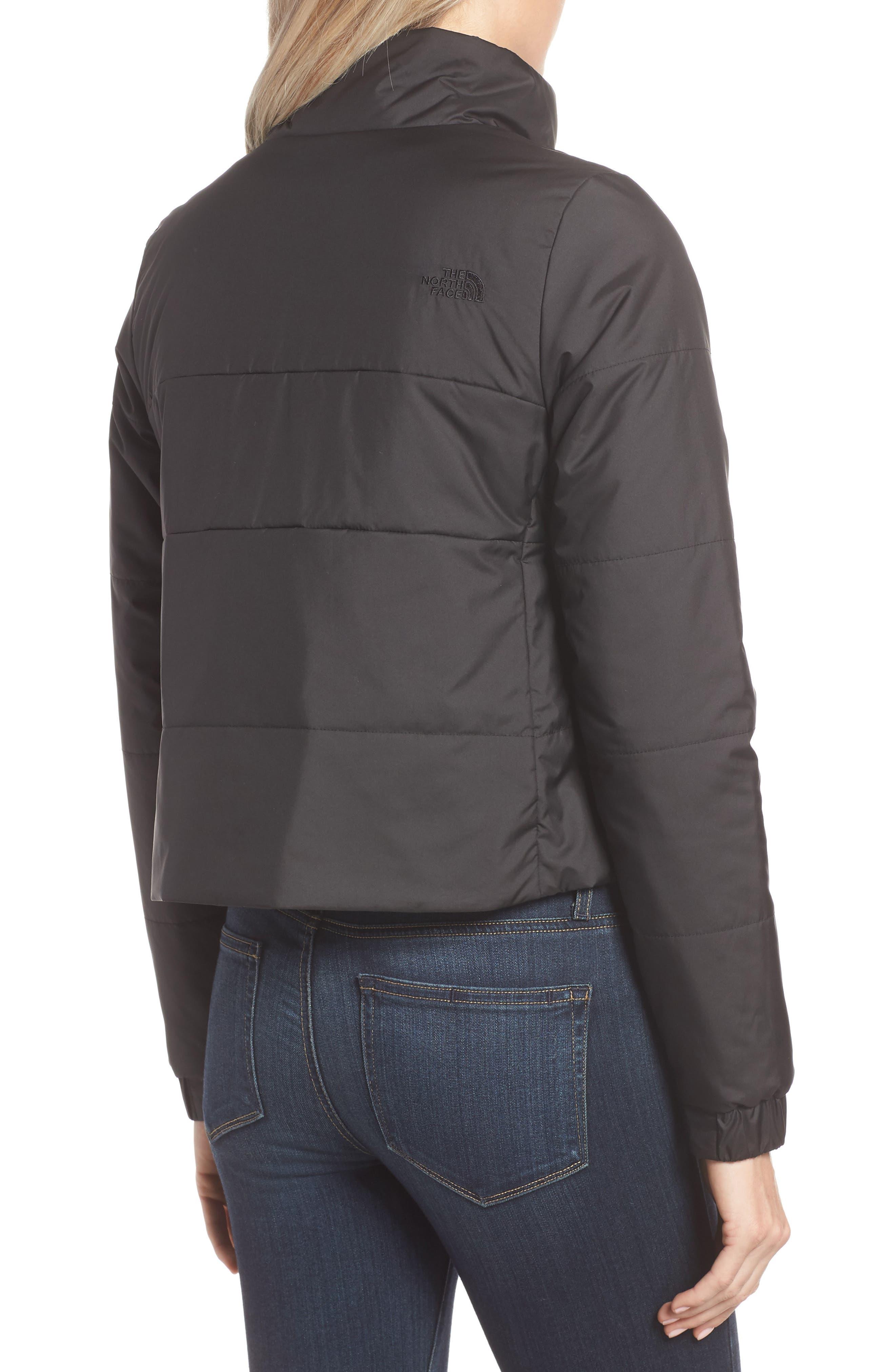 THE NORTH FACE,                             Femtastic Heatseeker Insulated Jacket,                             Alternate thumbnail 2, color,                             TNF BLACK