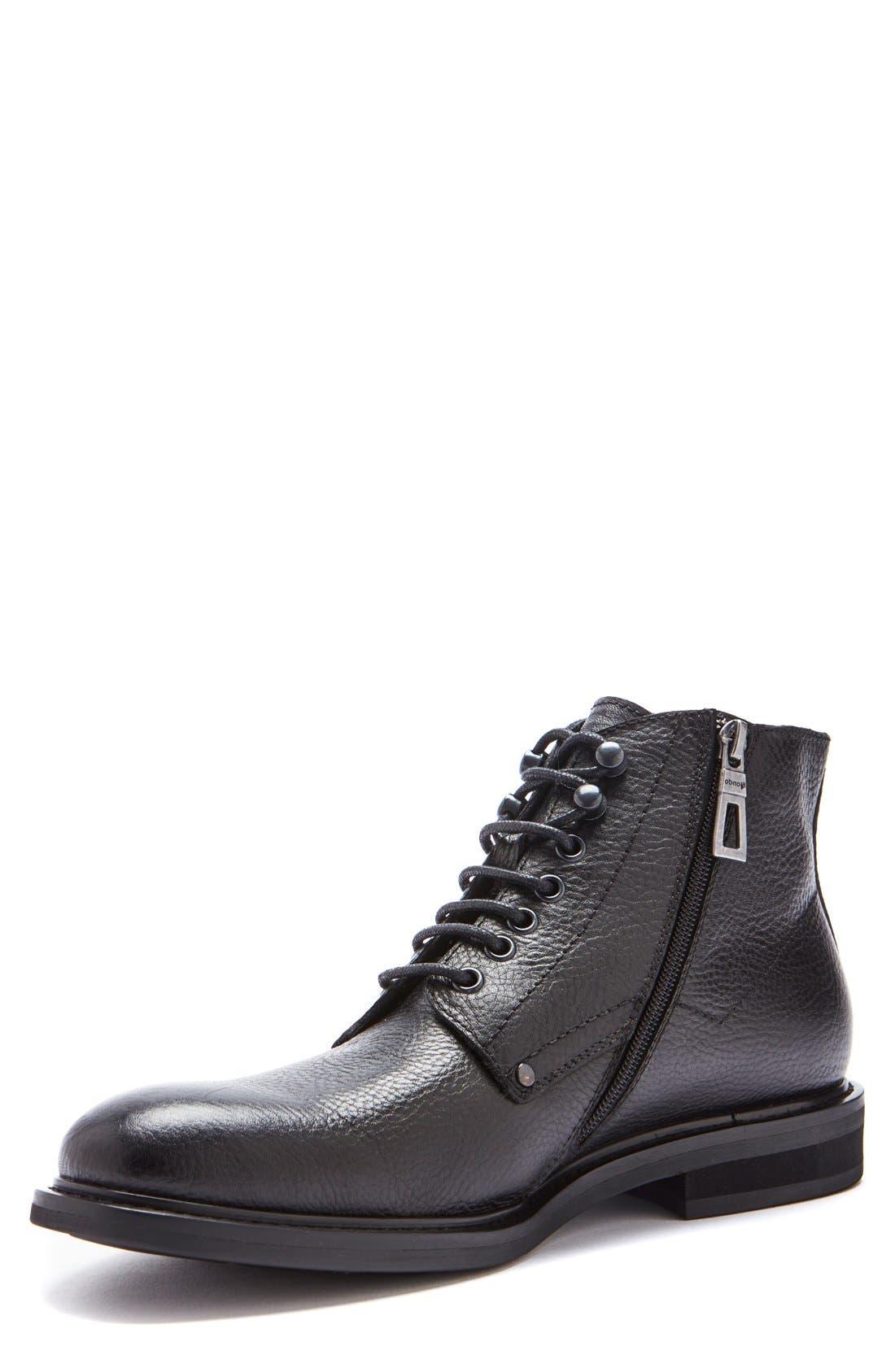 'Float' Waterproof Plain Toe Boot,                         Main,                         color, 001