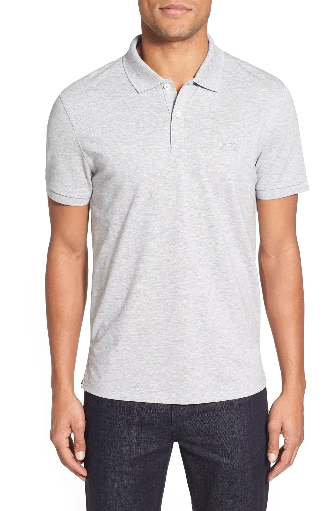 'Pallas' Regular Fit Logo Embroidered Polo Shirt,                             Main thumbnail 5, color,