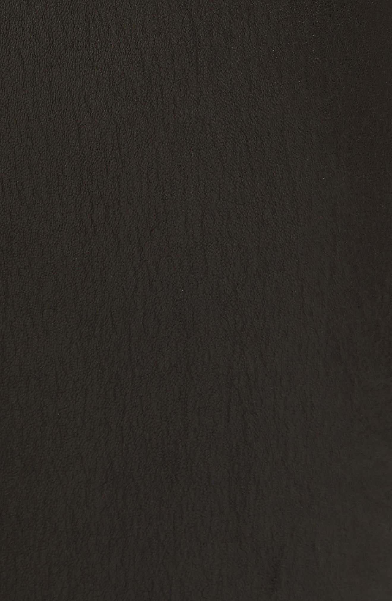 Lambskin Leather Pants,                             Alternate thumbnail 18, color,