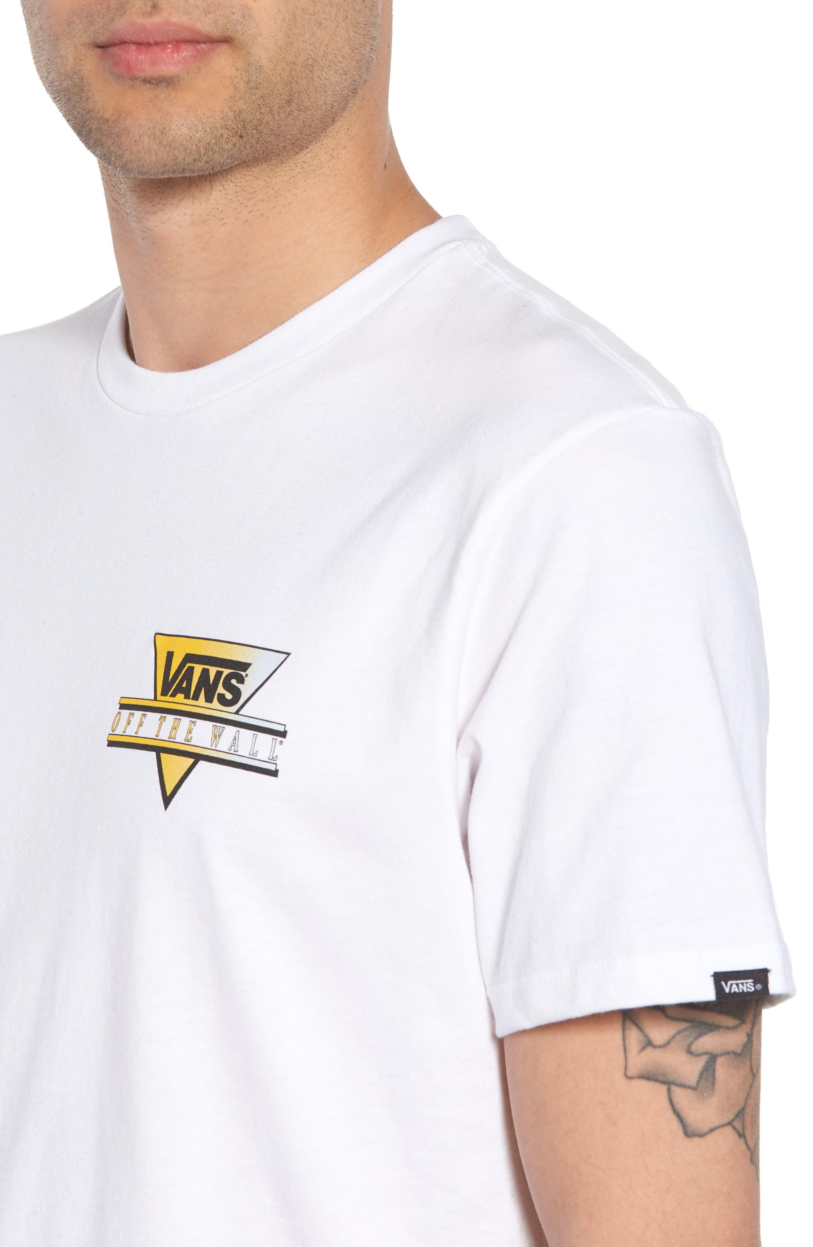 Retro Graphic T-Shirt,                             Alternate thumbnail 4, color,                             100