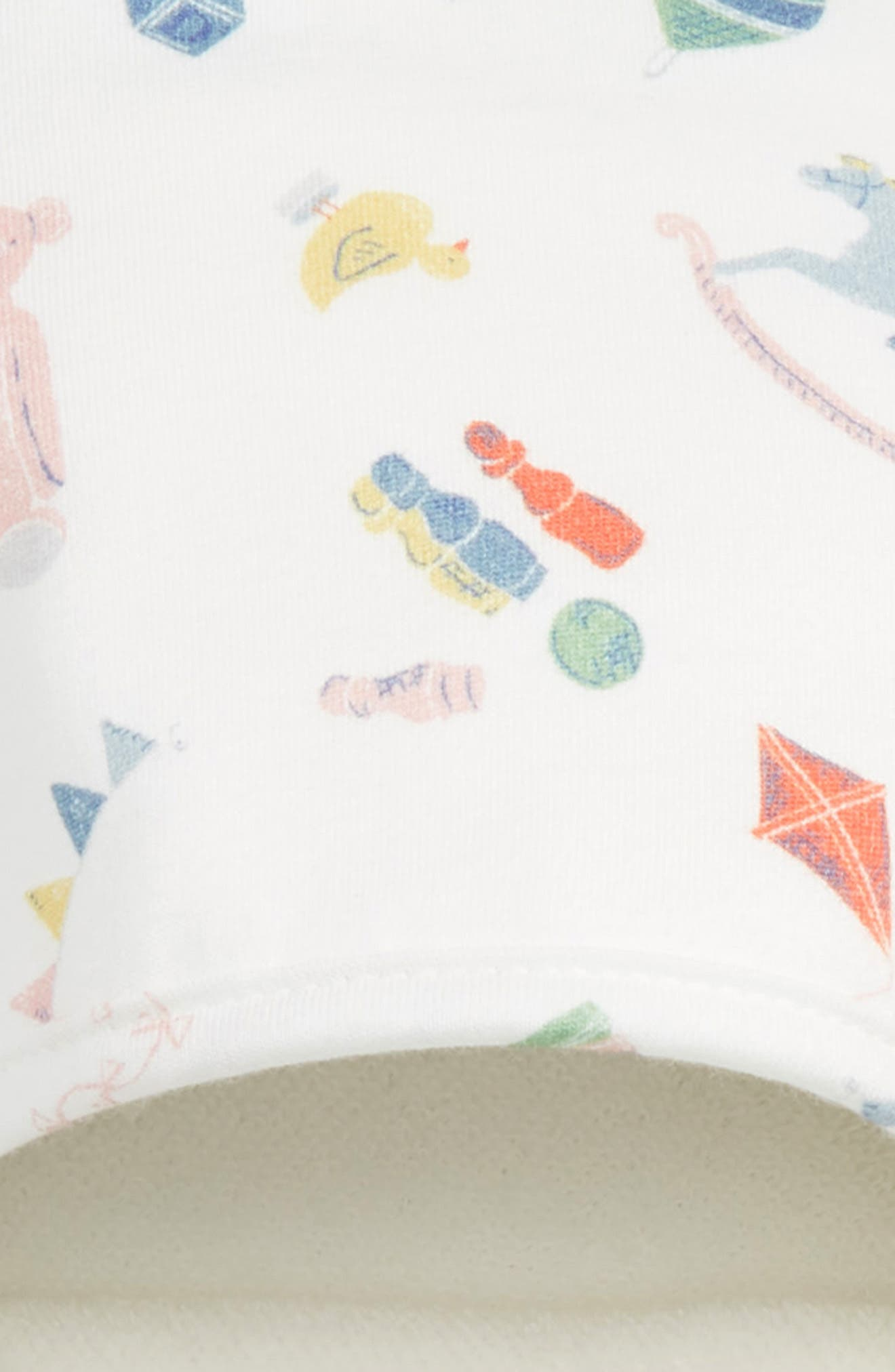 Supersoft Hooded Towel,                             Alternate thumbnail 2, color,                             MULTI NURSERY