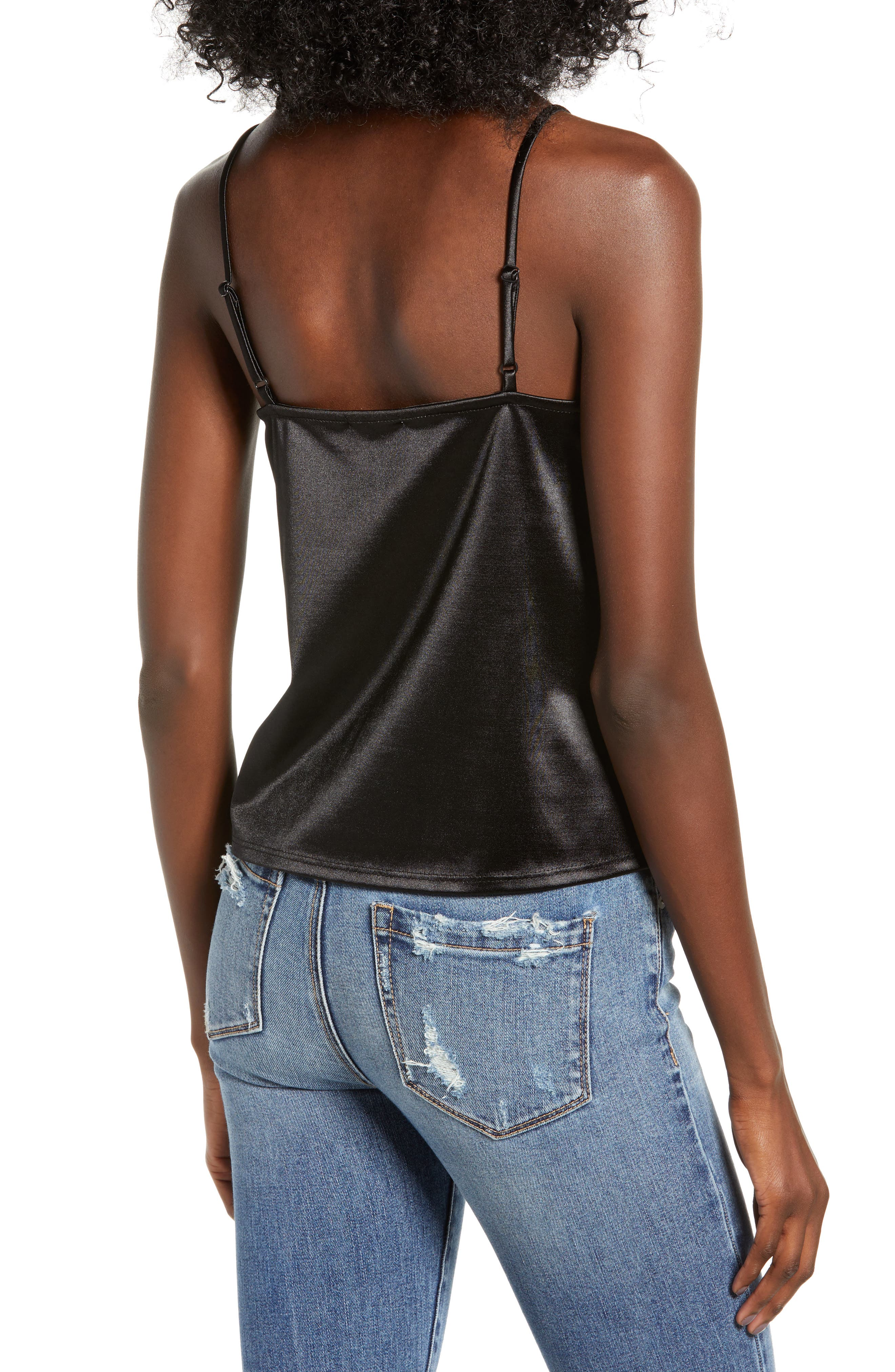 Everyday Camisole,                             Alternate thumbnail 2, color,                             BLACK