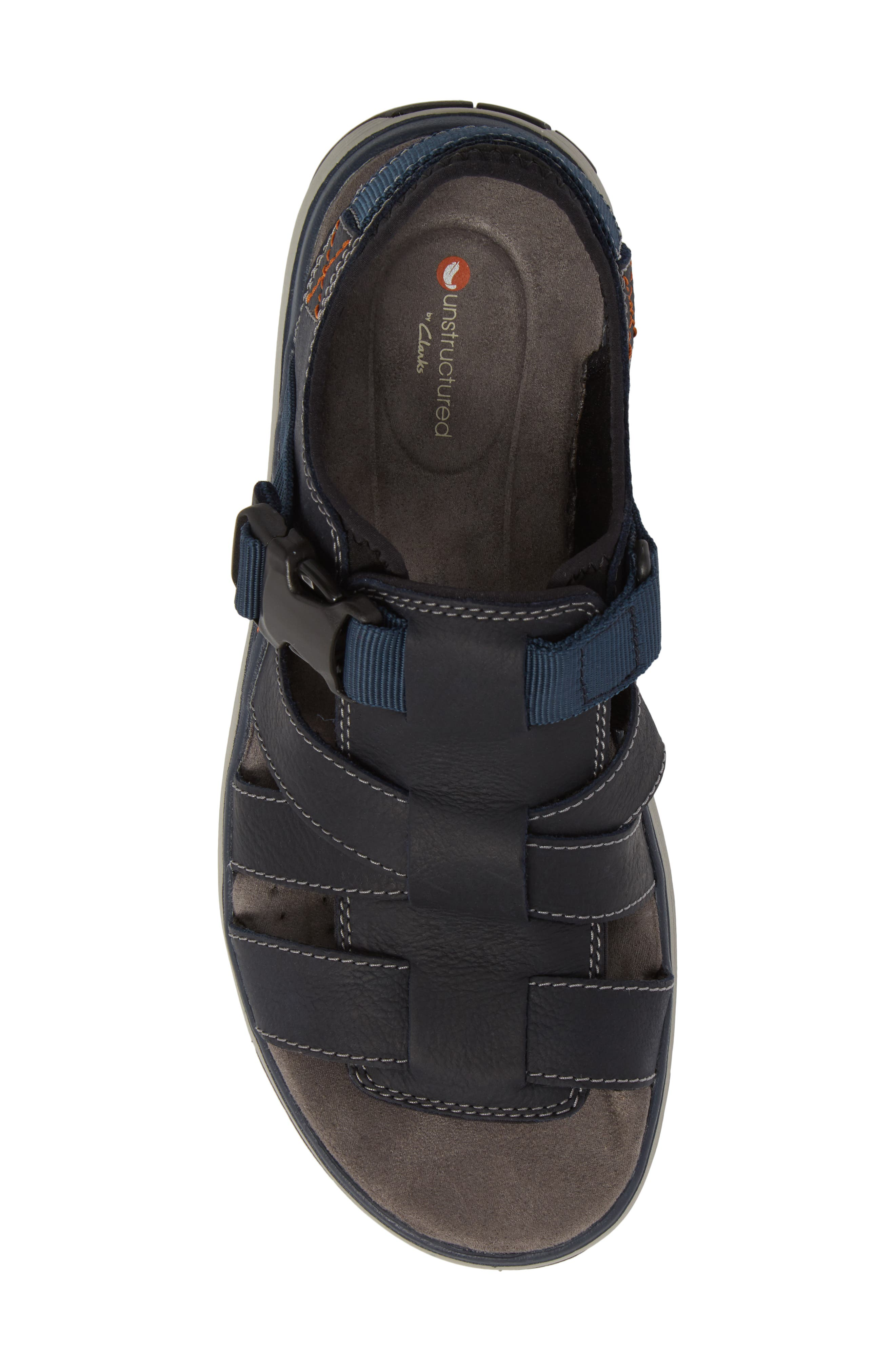 Clarks<sup>®</sup> Untrek Cove Fisherman Sandal,                             Alternate thumbnail 10, color,
