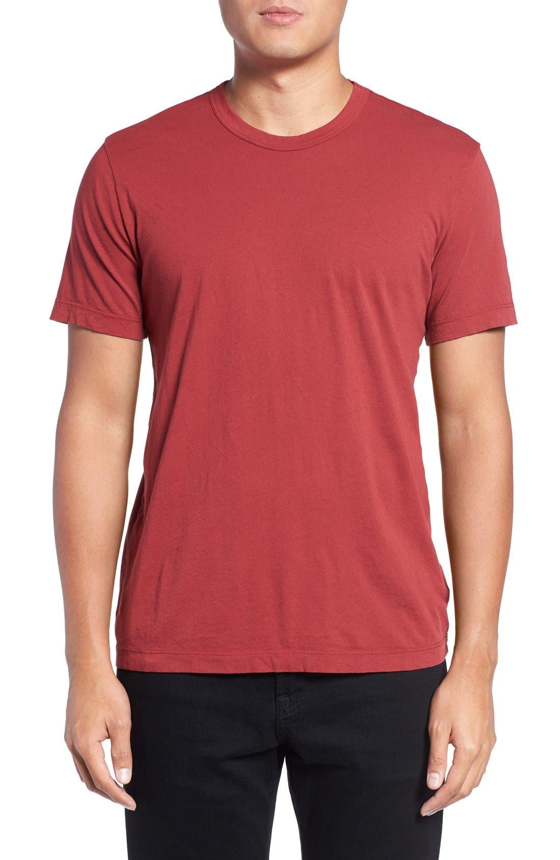 Crewneck Jersey T-Shirt,                             Main thumbnail 95, color,