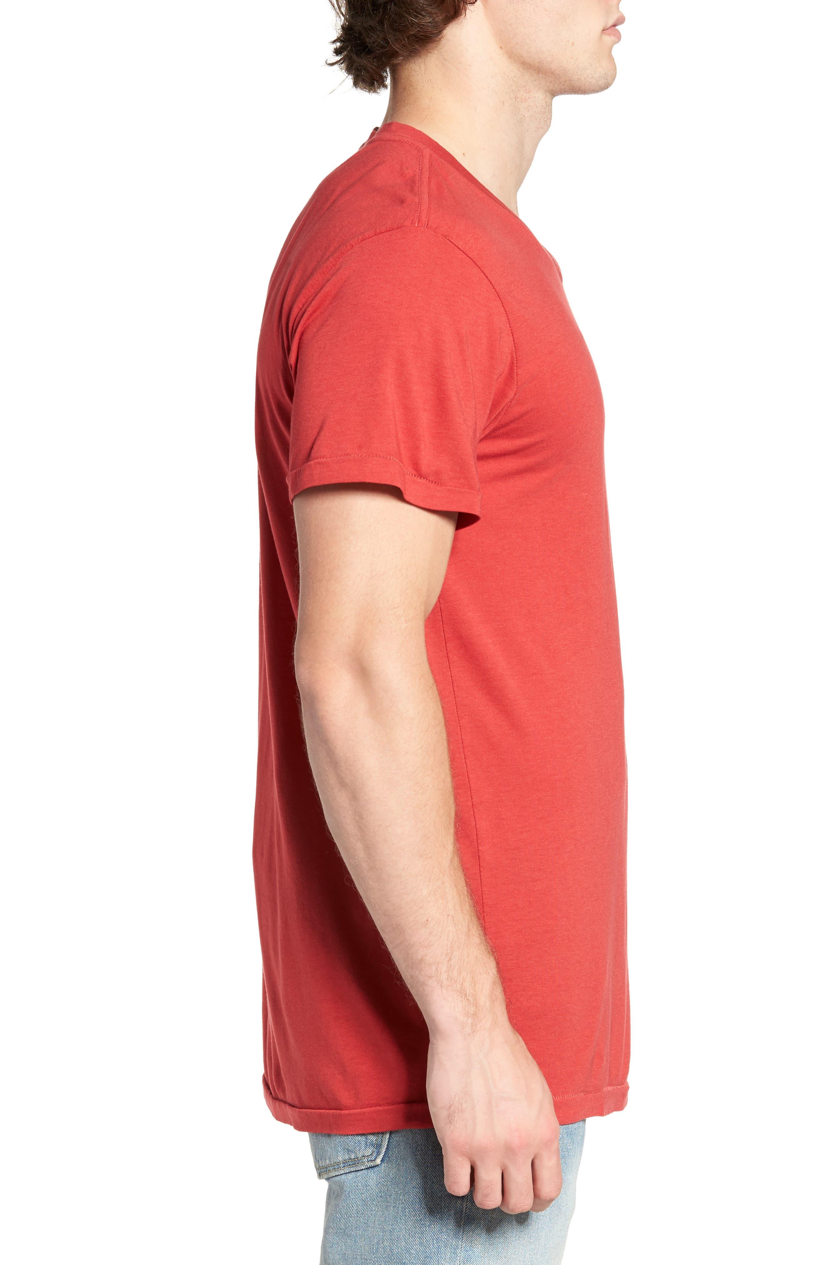 Essential V-Neck T-Shirt,                             Alternate thumbnail 23, color,