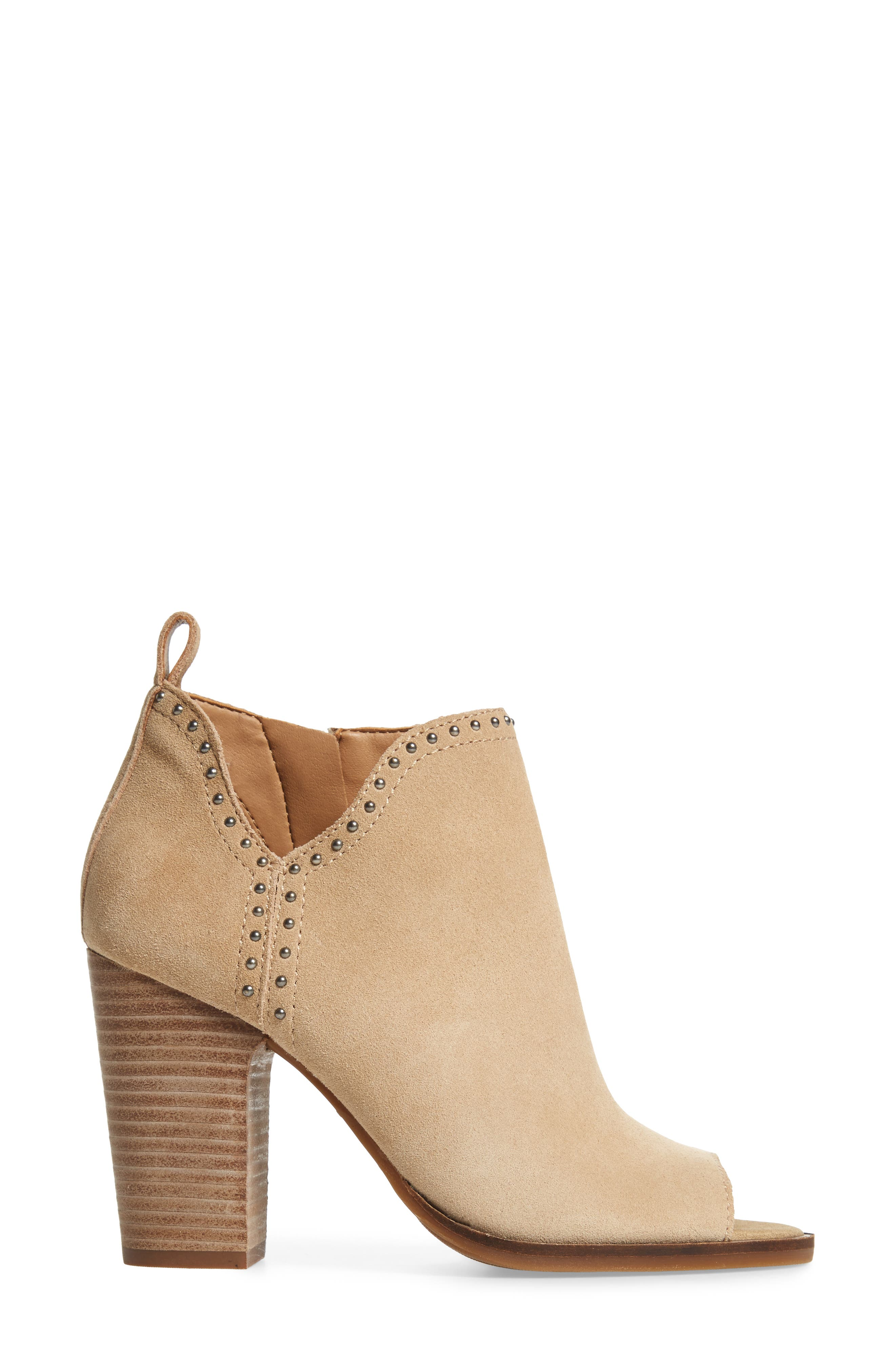 Lotisha Studded Open Toe Bootie,                             Alternate thumbnail 12, color,