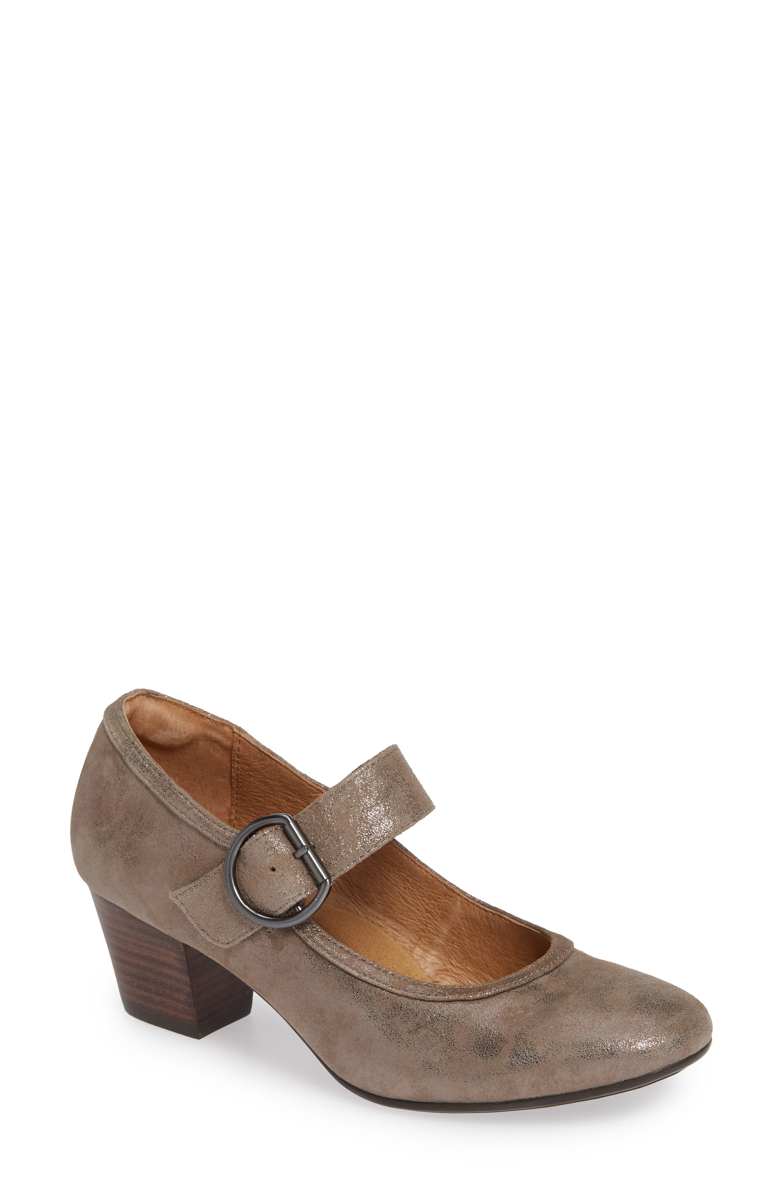 Lorna Pump,                             Main thumbnail 1, color,                             SMOKE DISTRESSED FOIL SUEDE