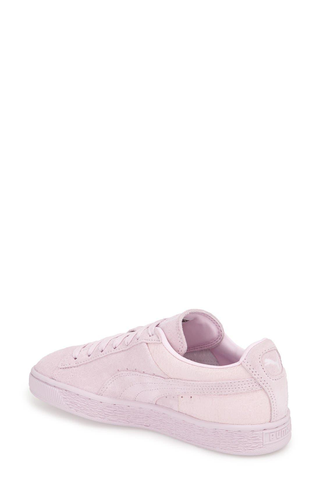 Suede Sneaker,                             Alternate thumbnail 50, color,