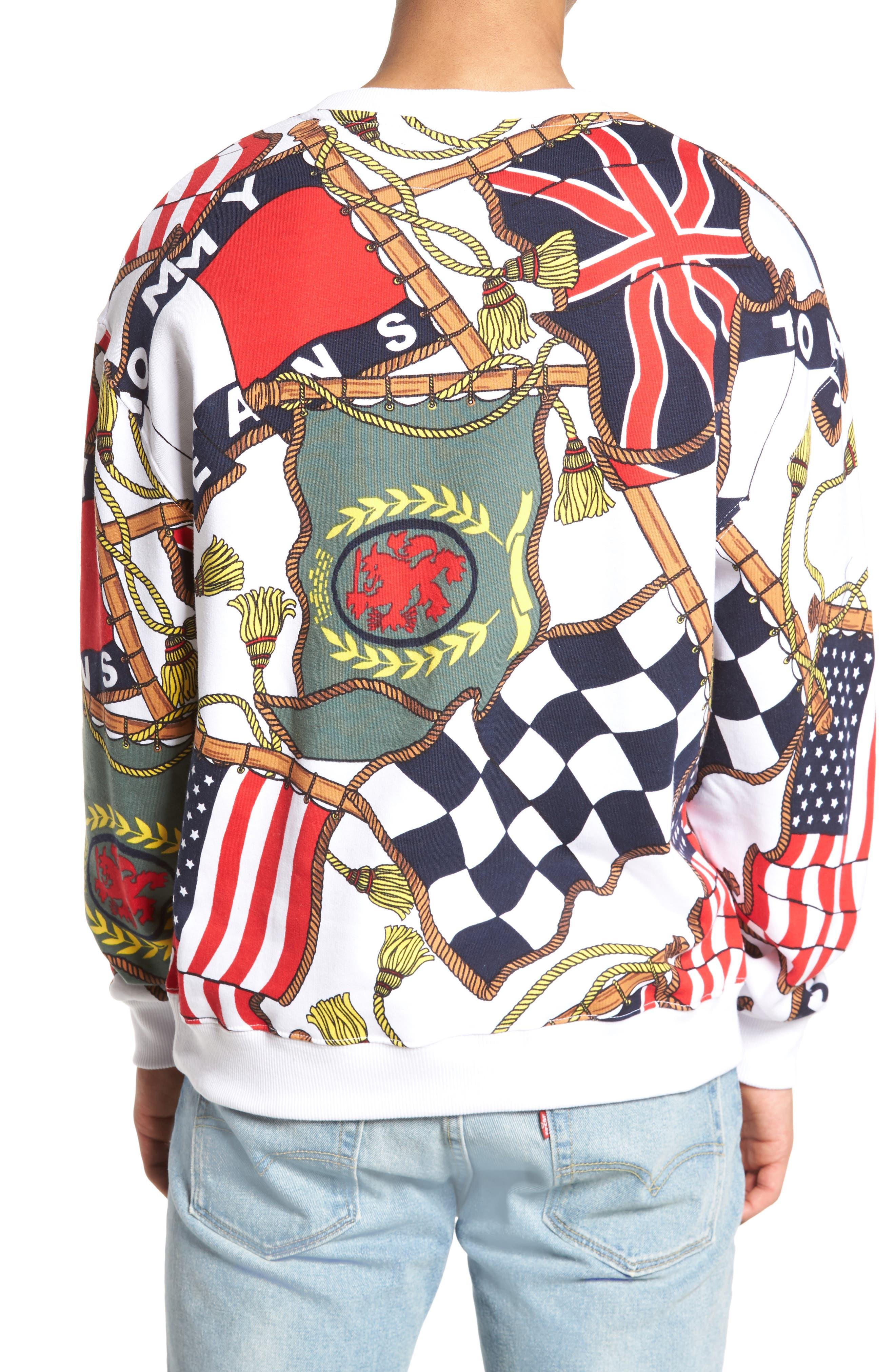 TOMMY HILFIGER,                             90s Sweatshirt,                             Alternate thumbnail 2, color,                             101