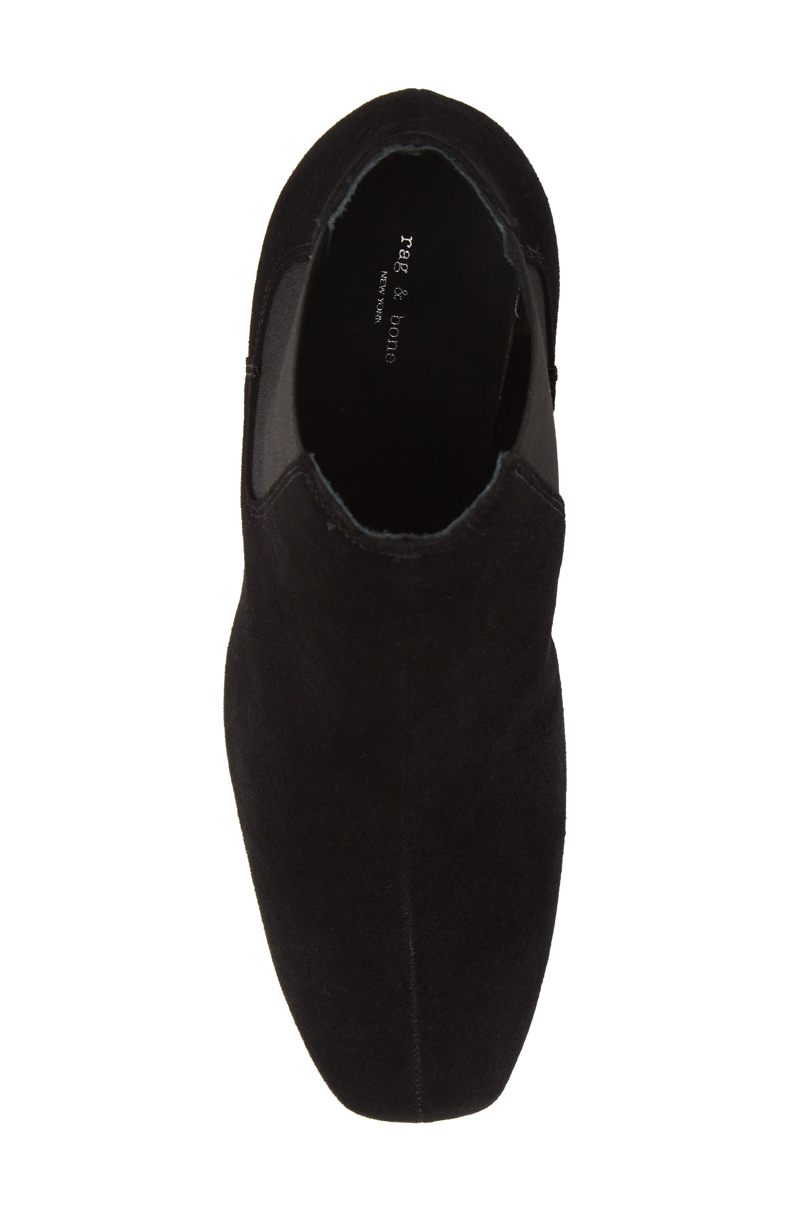 Asleen Boot,                             Alternate thumbnail 5, color,                             BLACK SUEDE