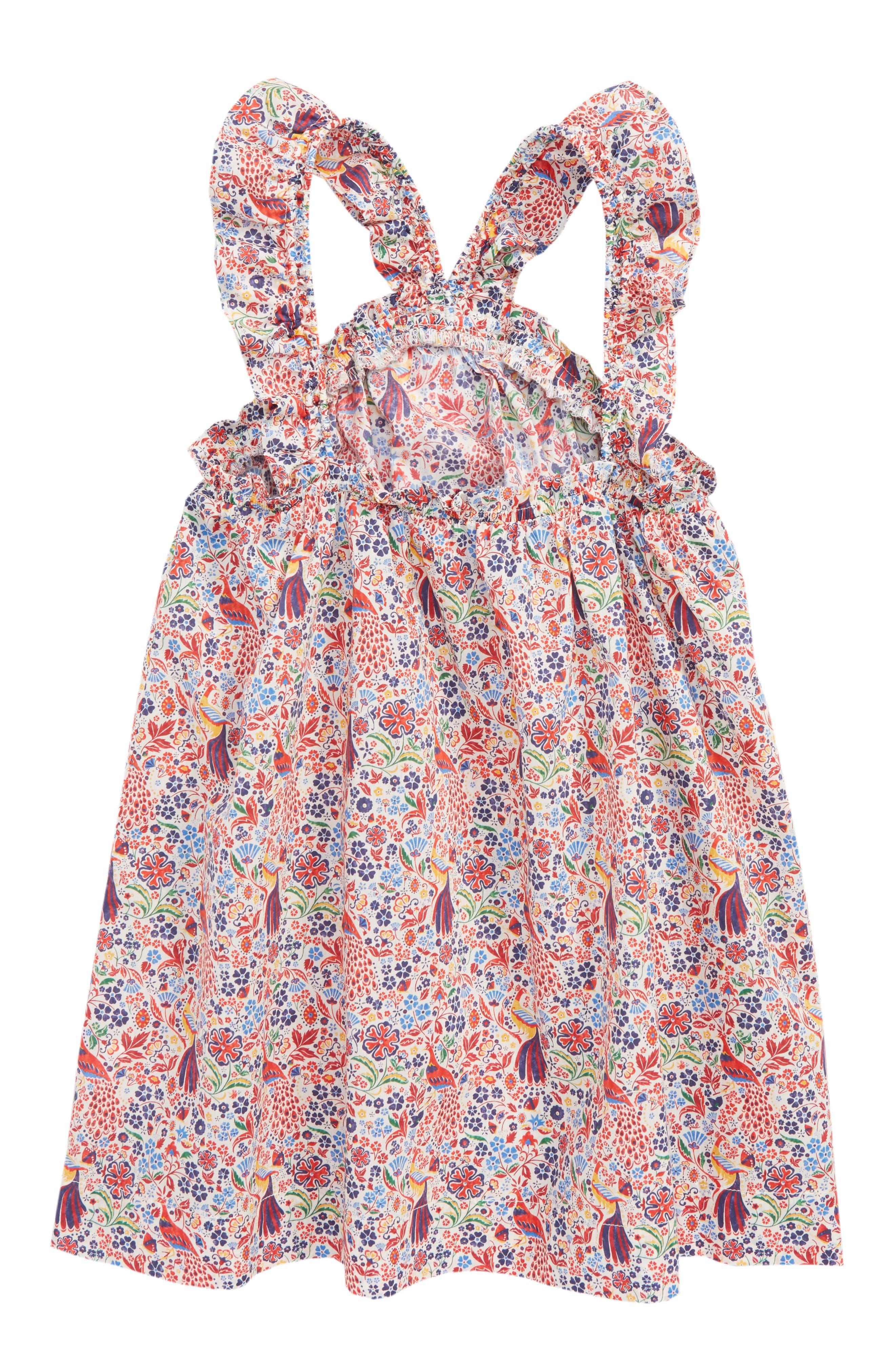 Liberty<sup>®</sup> Print Dress,                             Alternate thumbnail 2, color,                             650