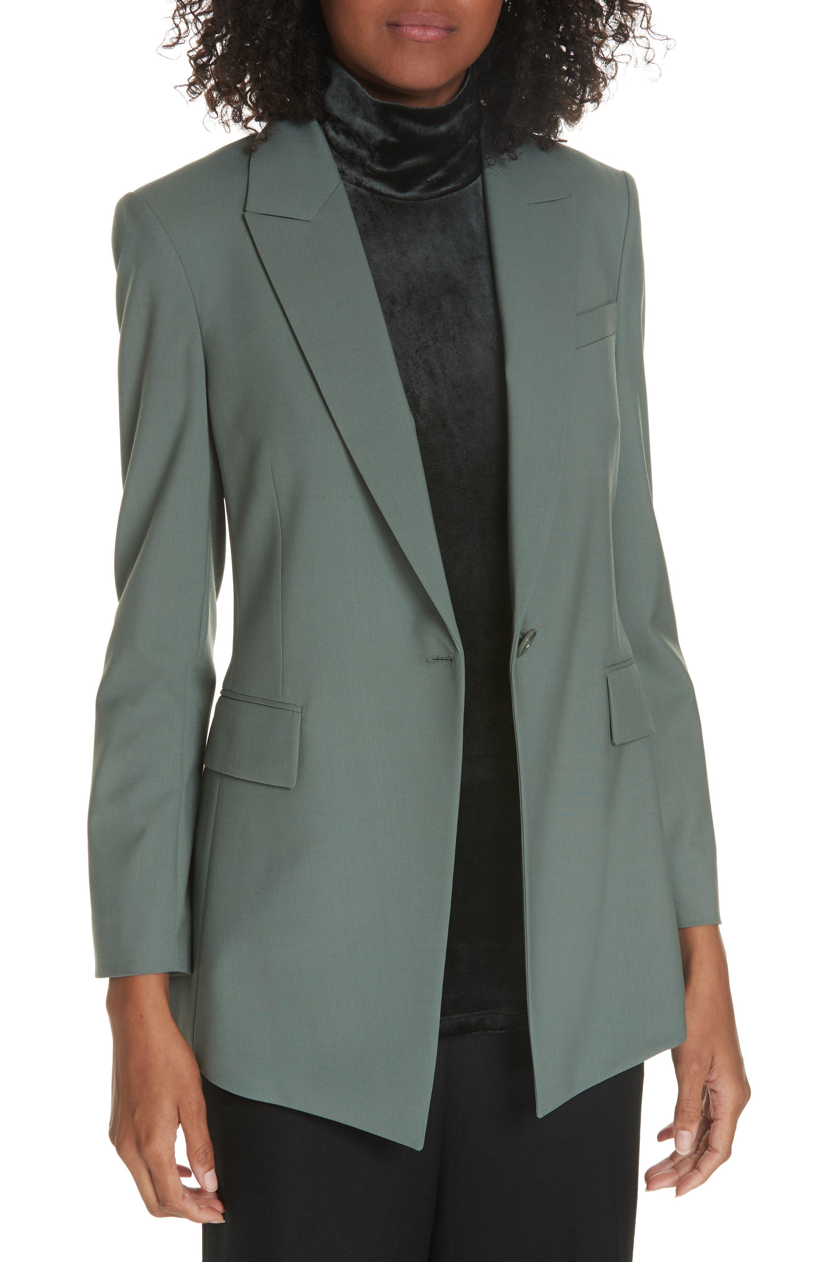 Etienette B Good Wool Suit Jacket,                             Main thumbnail 1, color,