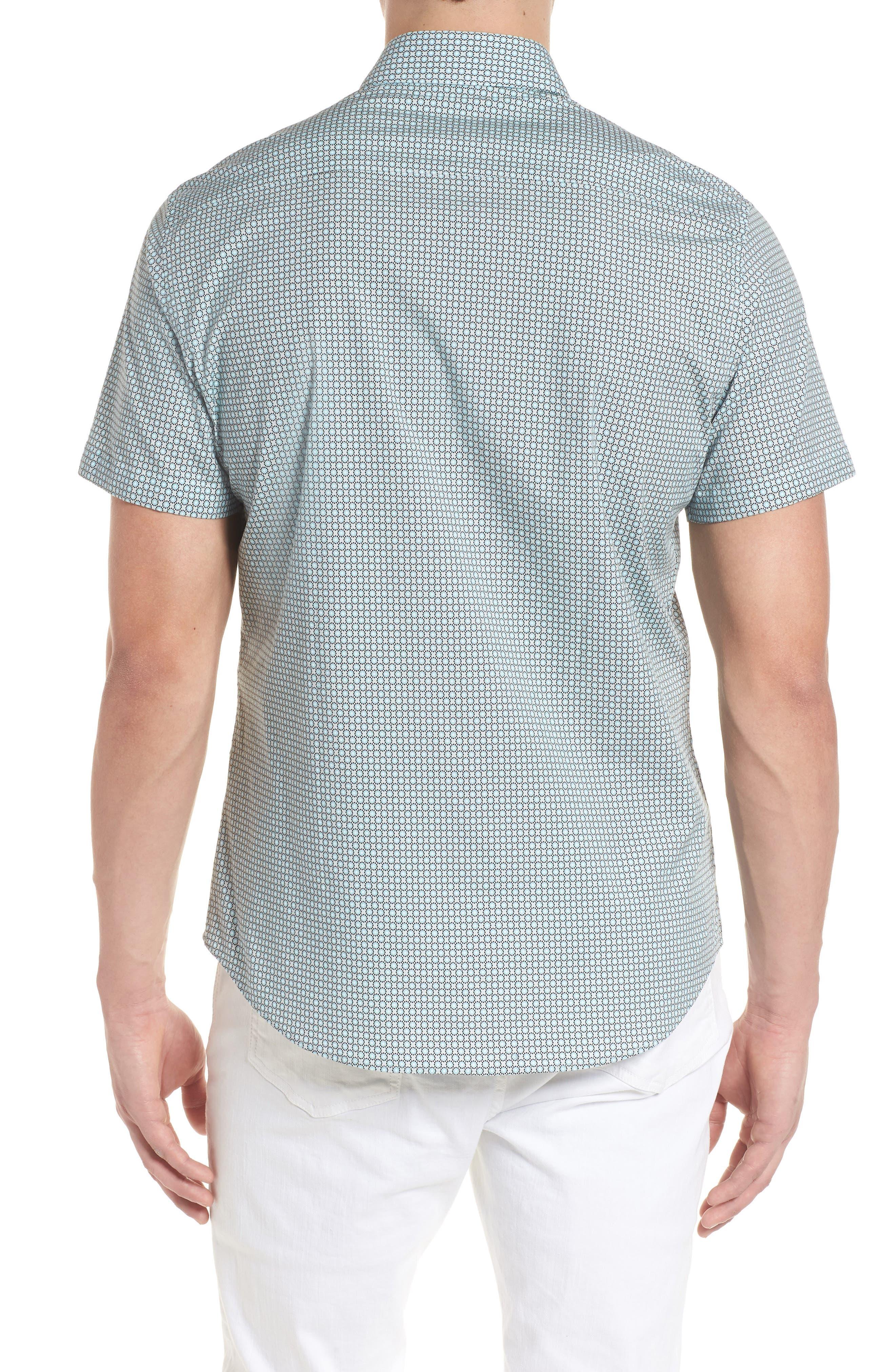 Woven Sport Shirt,                             Alternate thumbnail 2, color,                             020