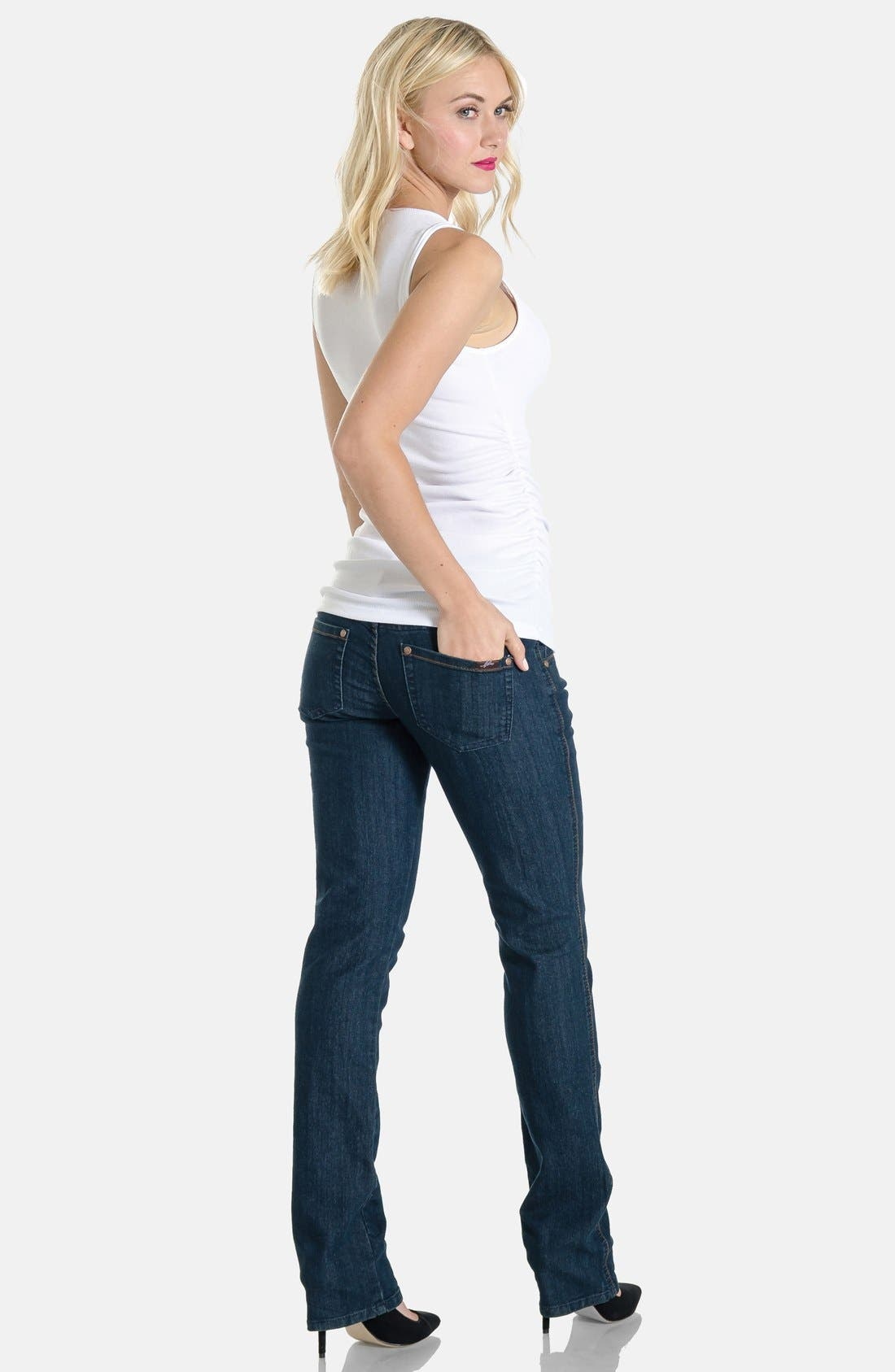 Maternity Jeans,                             Alternate thumbnail 9, color,                             400