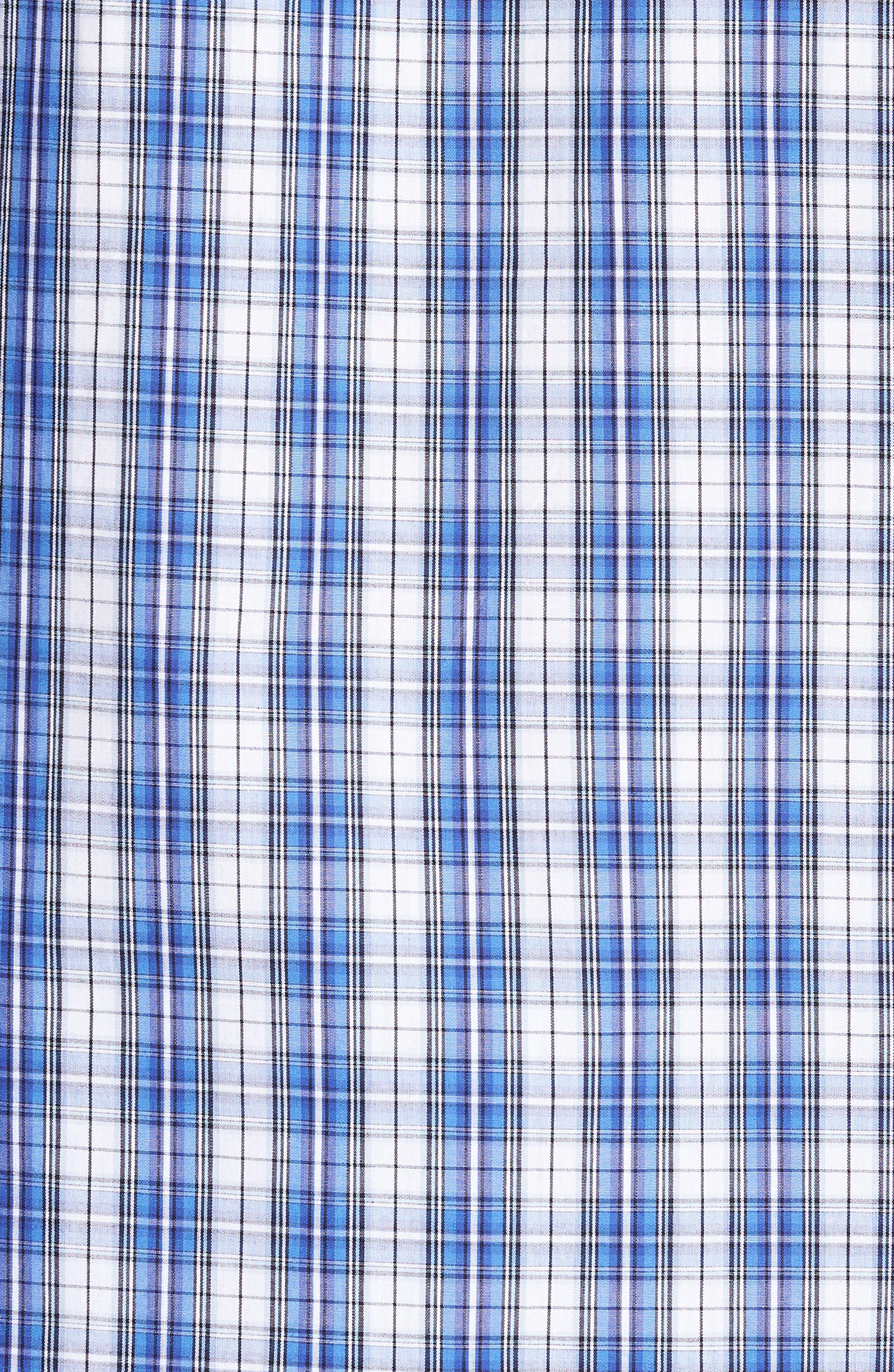 Cotton Pajama Shirt,                             Alternate thumbnail 5, color,                             428