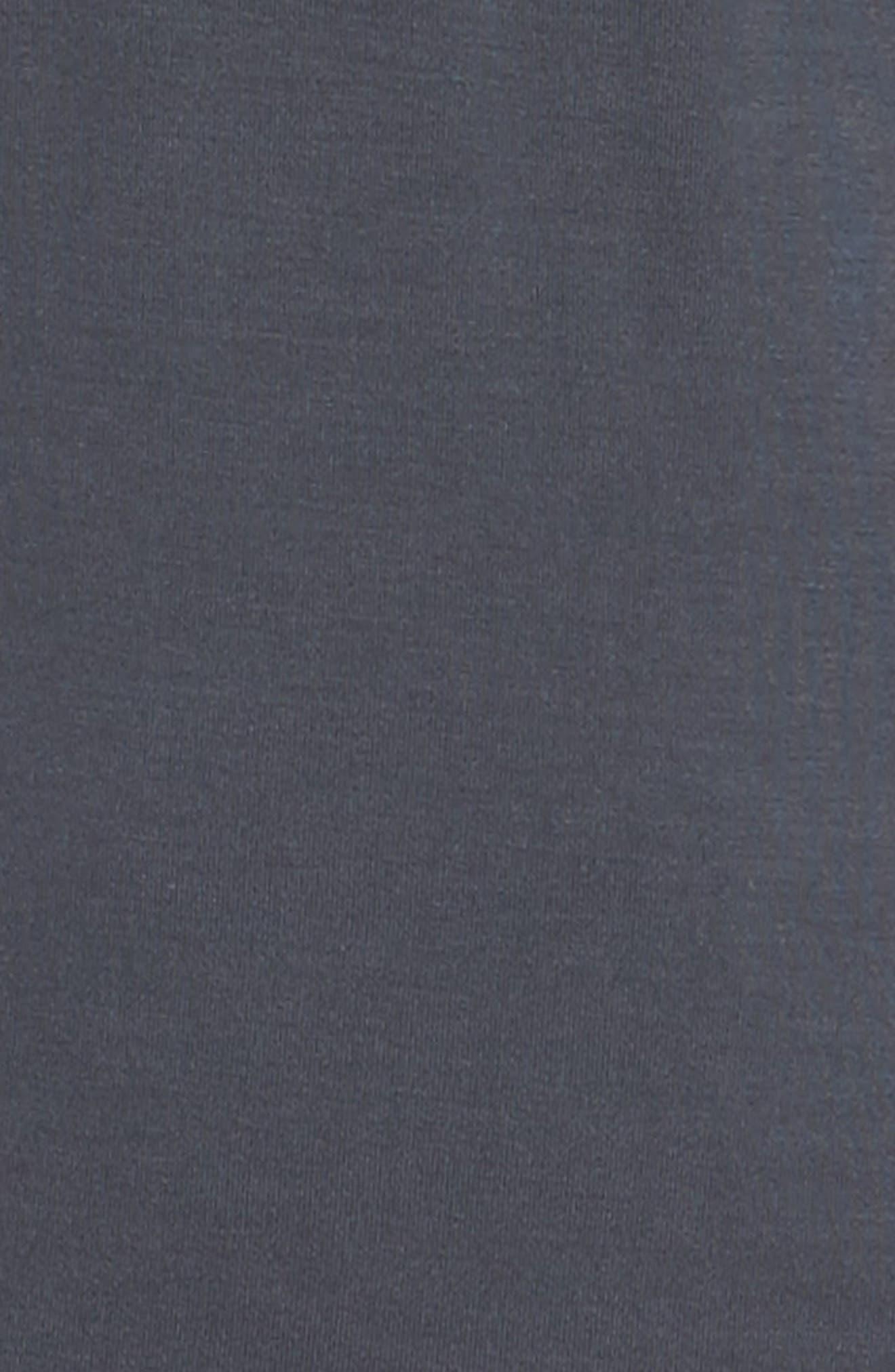 'U5563' V-Neck Micromodal T-Shirt,                             Alternate thumbnail 4, color,                             MINK