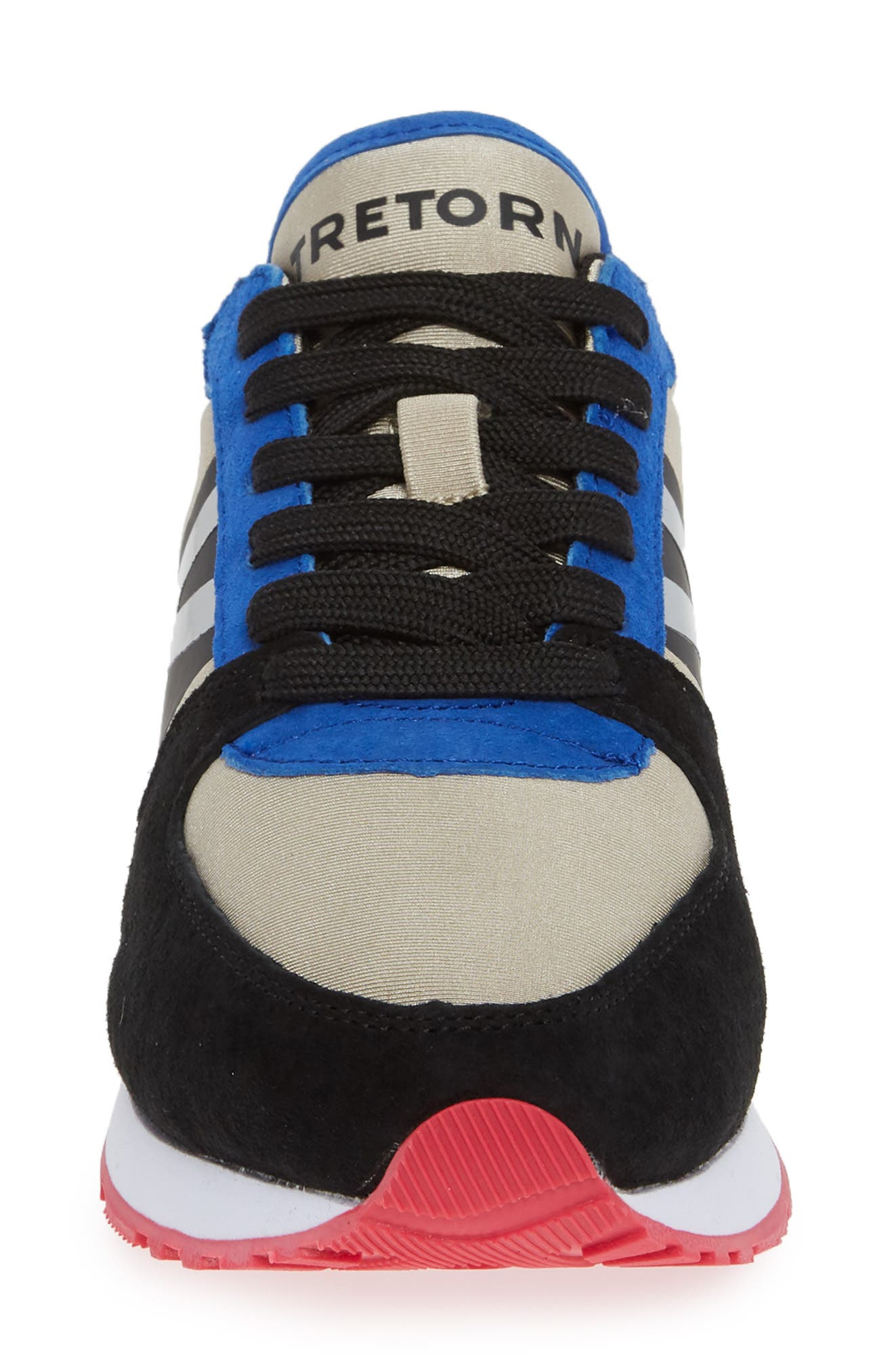 TRETORN,                             Loyola3 Sneaker,                             Alternate thumbnail 4, color,                             GLACIER GREY/ MARSHMALLOW