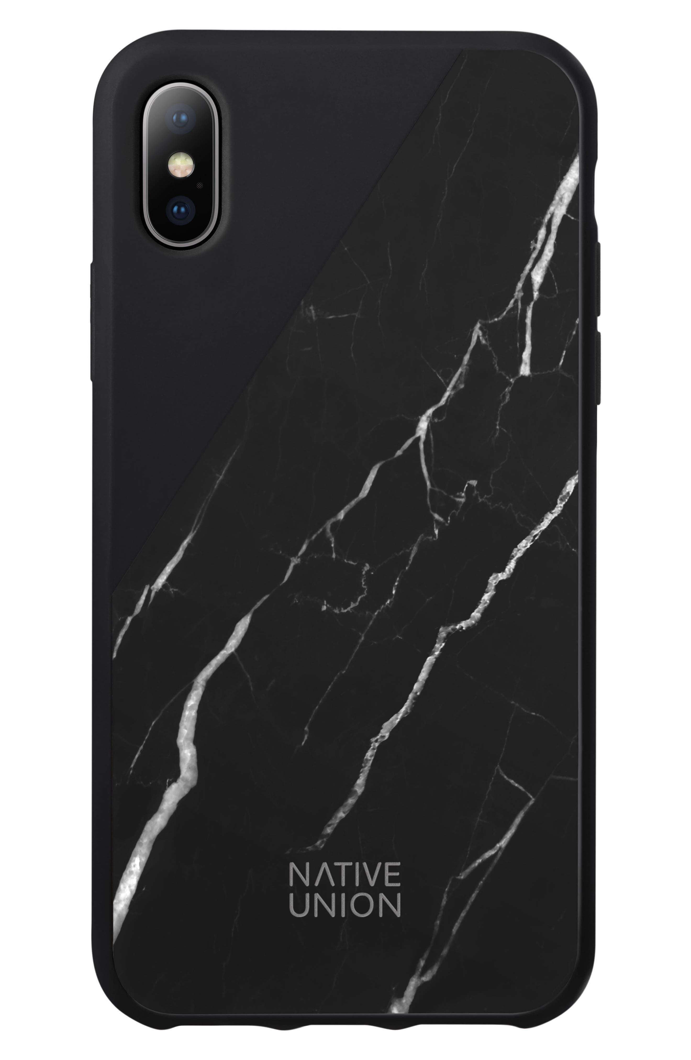 CLIC Marble iPhone X/Xs Case,                             Main thumbnail 1, color,                             001