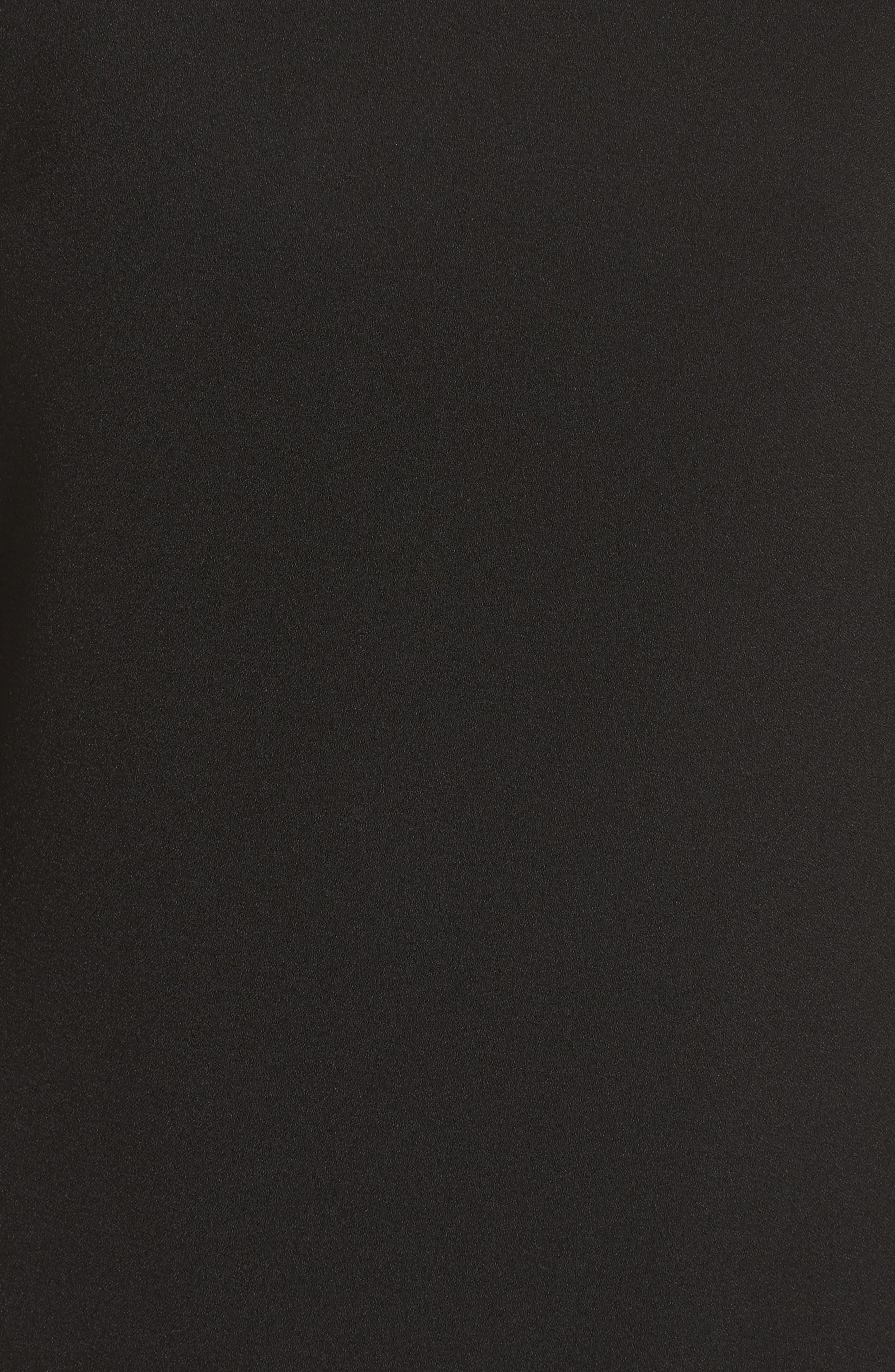 Bloused Sleeve Shift Dress,                             Alternate thumbnail 6, color,                             001