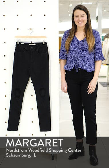 721<sup>™</sup> Ripped High Waist Skinny Jeans, sales video thumbnail