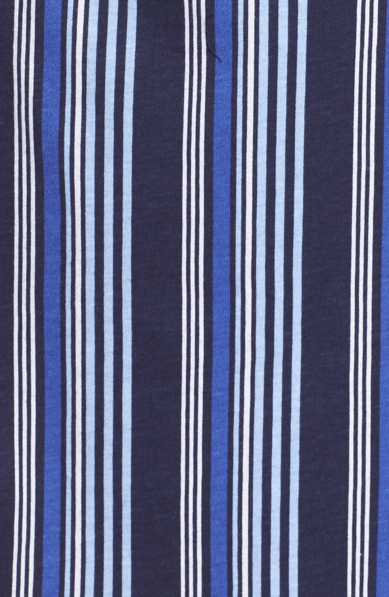Stripe Night Shirt,                             Alternate thumbnail 5, color,