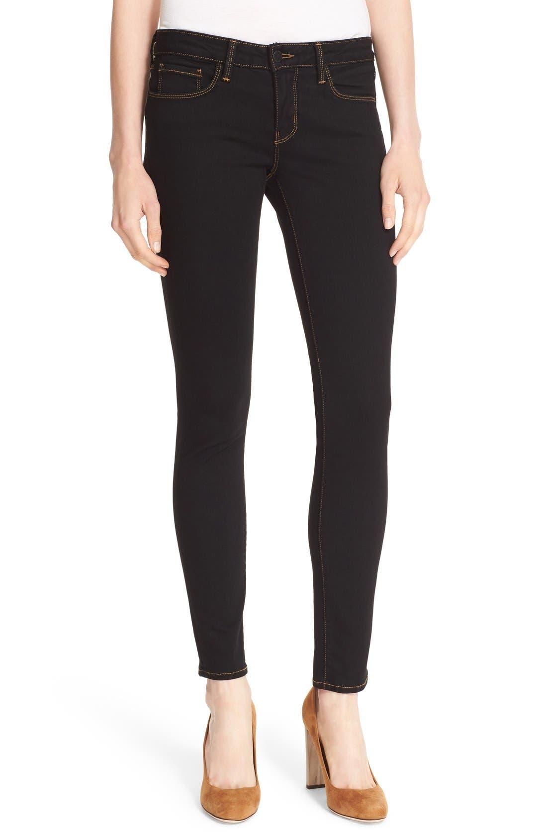 L'AGENCE,                             'Chantal' Skinny Jeans,                             Alternate thumbnail 2, color,                             001