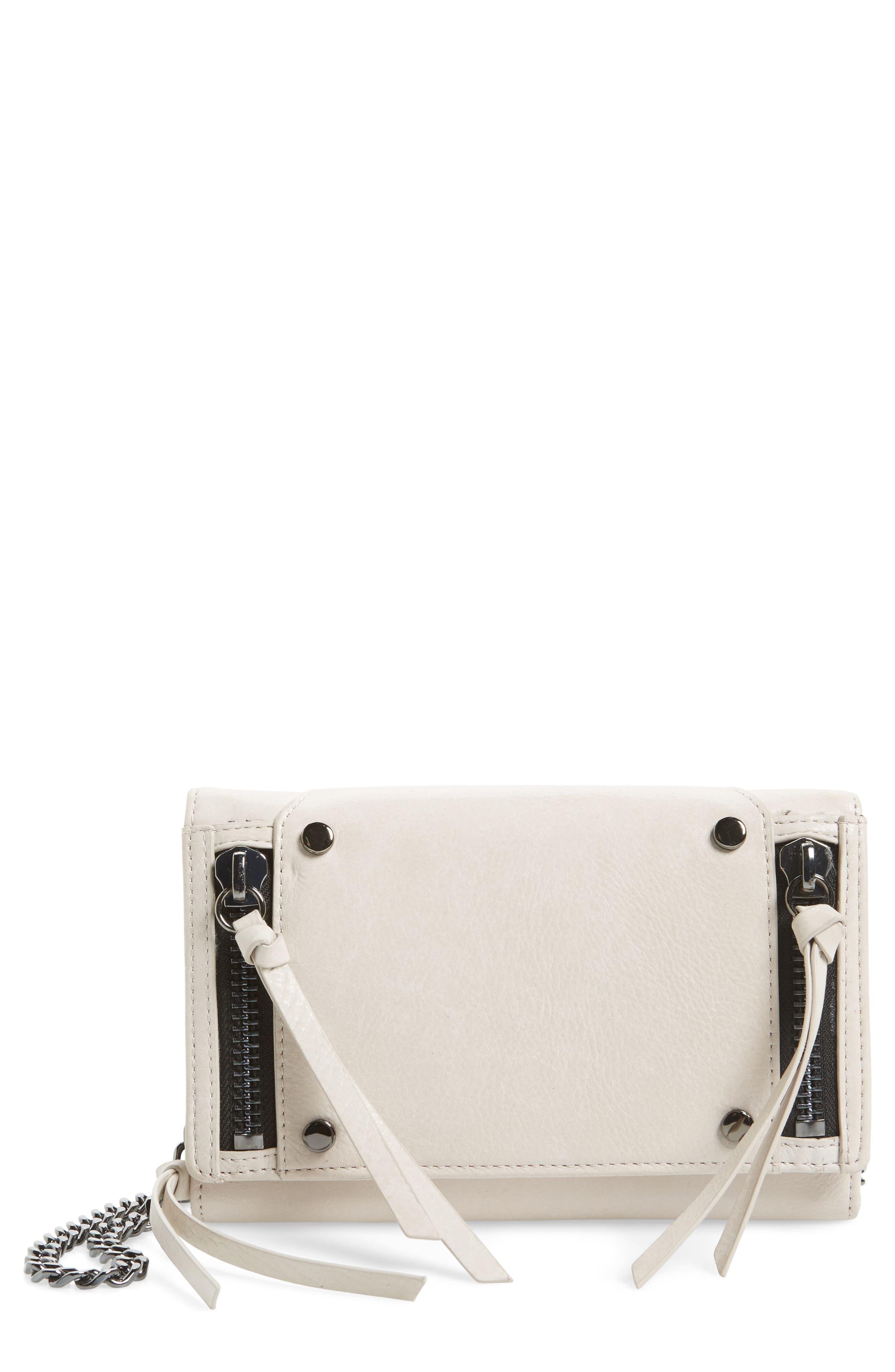 Logan Leather Crossbody Wallet,                             Main thumbnail 2, color,