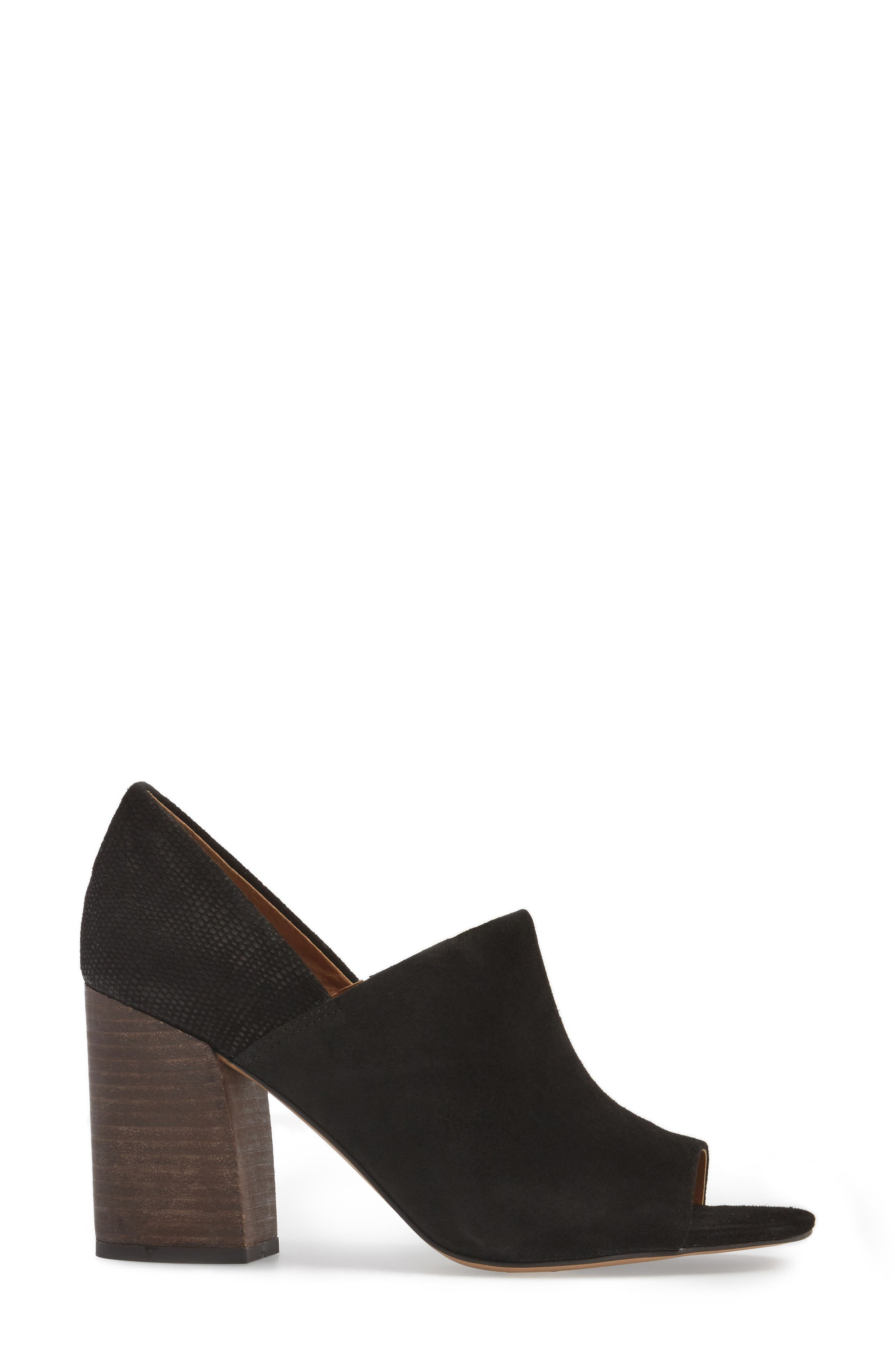 Ellison Block Heel Sandal,                             Alternate thumbnail 3, color,                             001
